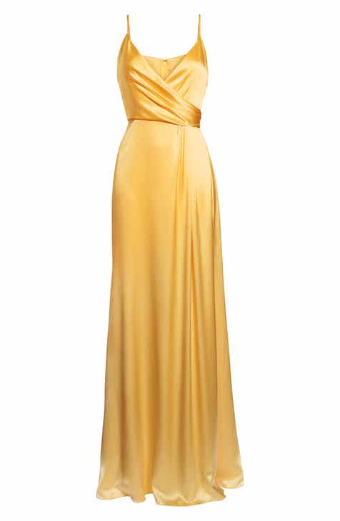 Women\'s Yellow Ball Gown Dresses | Nordstrom