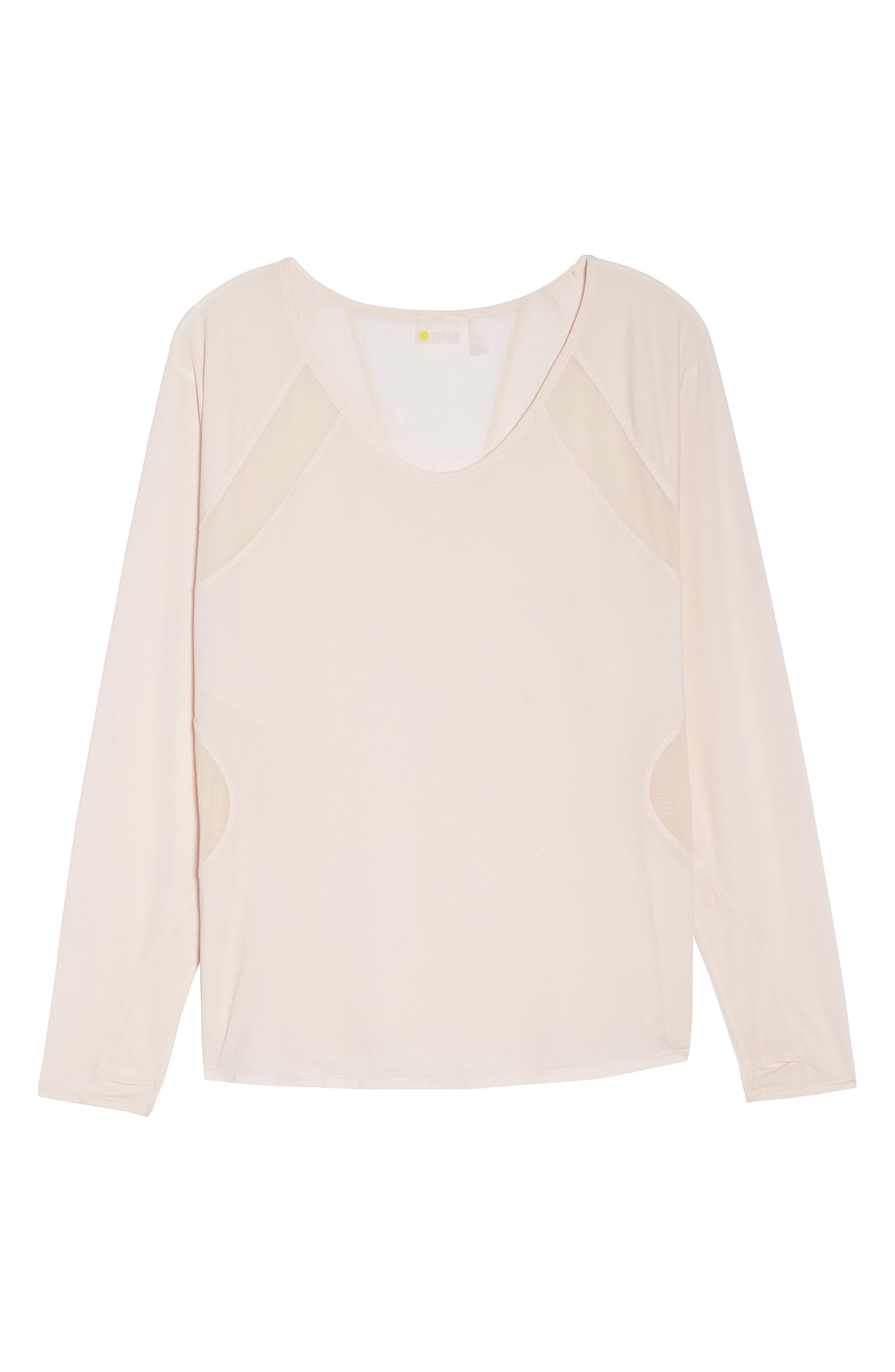 Contour 2 Pullover Top,                             Alternate thumbnail 7, color,                             Pink Morganite