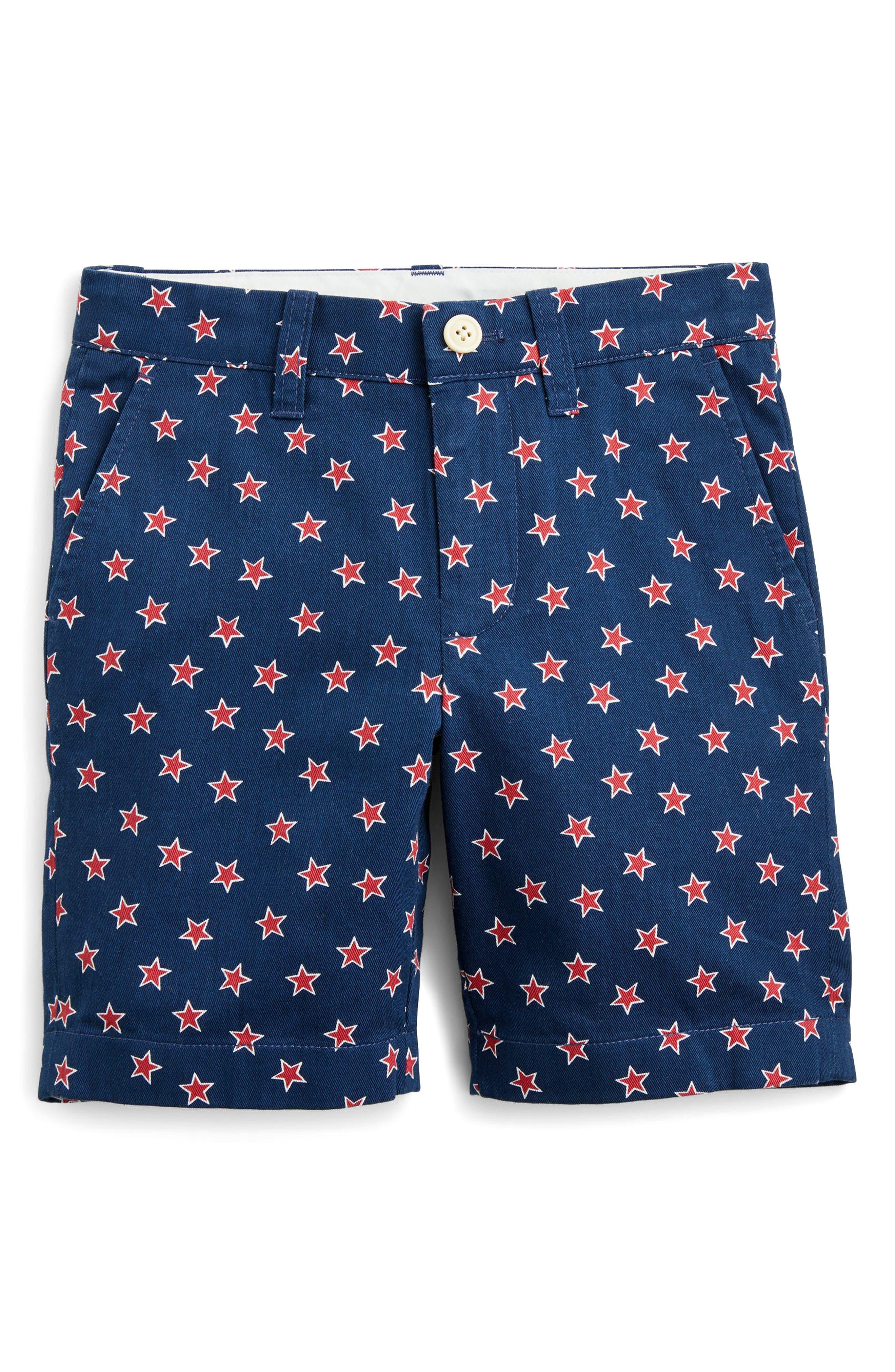 crewcuts by J.Crew Stanton Critter Stars Shorts (Toddler Boys, Little Boys & Big Boys)