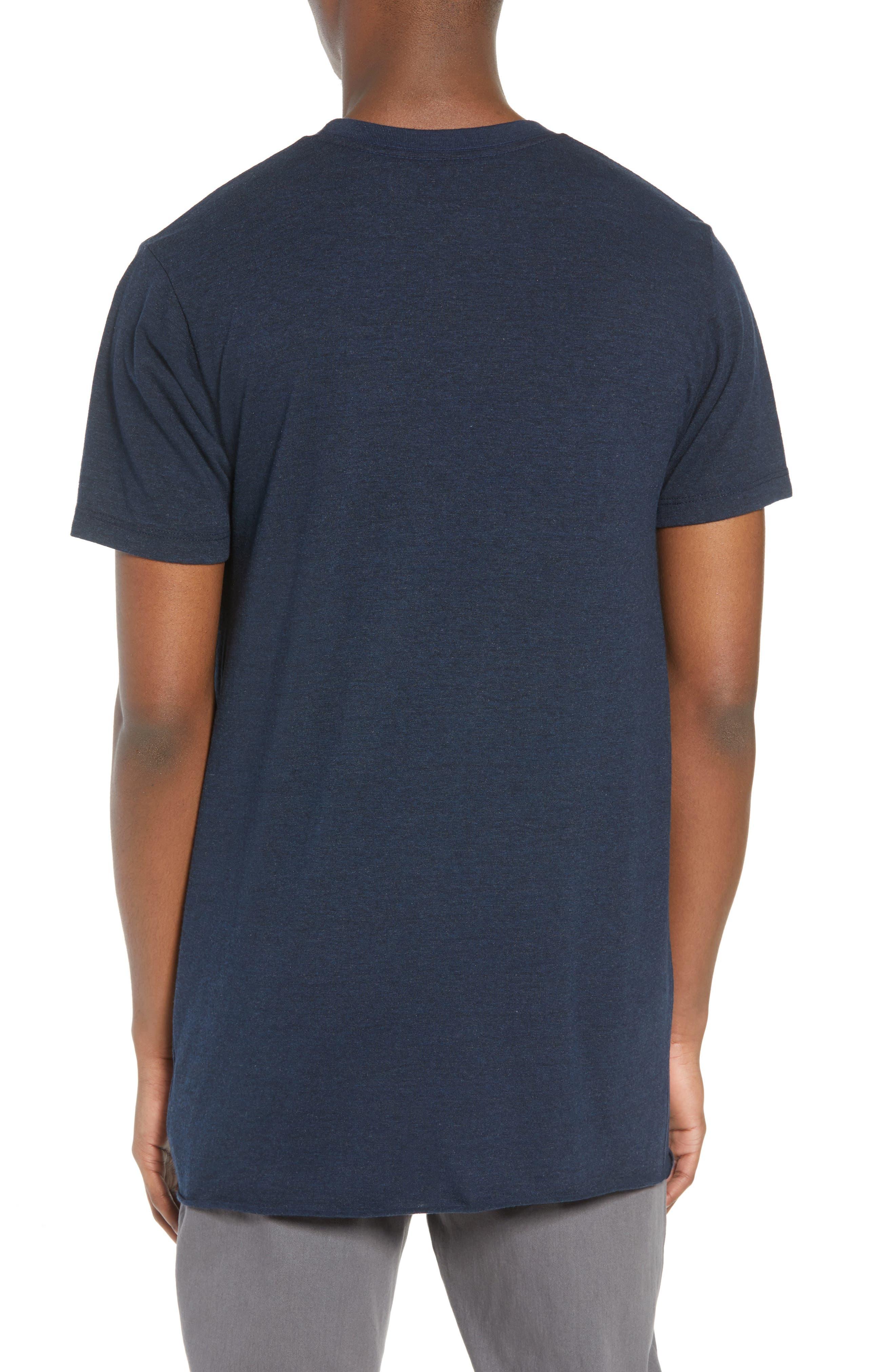 Winslow T-Shirt,                             Alternate thumbnail 2, color,                             Heather Navy