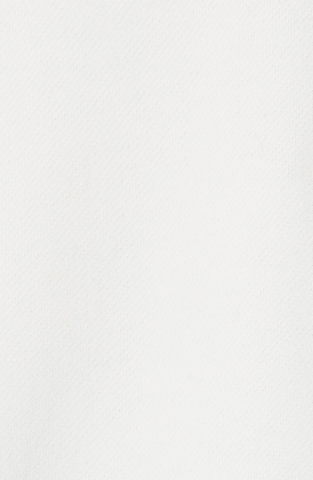 Half-Zip Hoodie,                             Alternate thumbnail 3, color,                             Off White