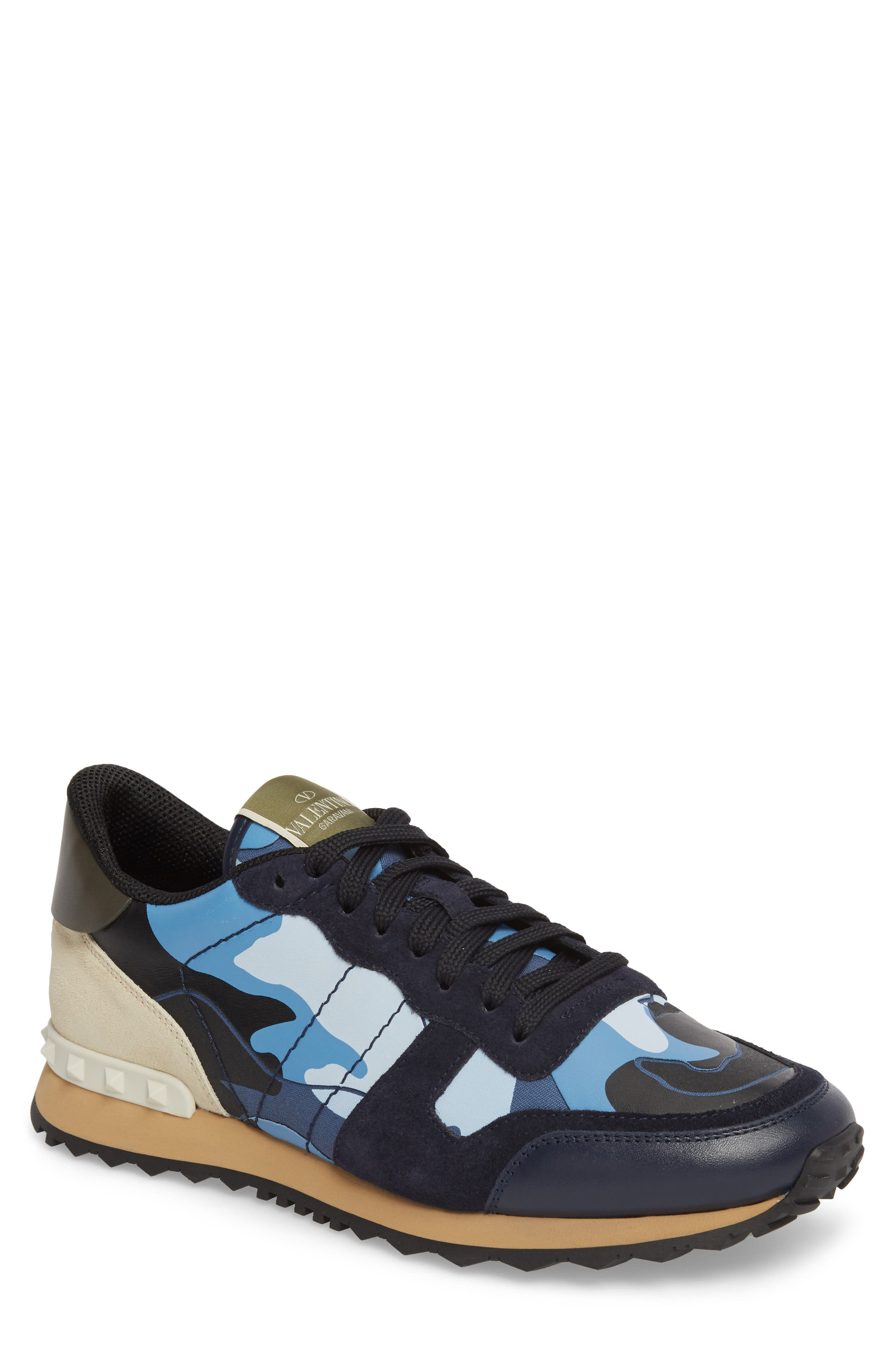 VALENTINO GARAVANI Camo Rockrunner Sneaker (Men)