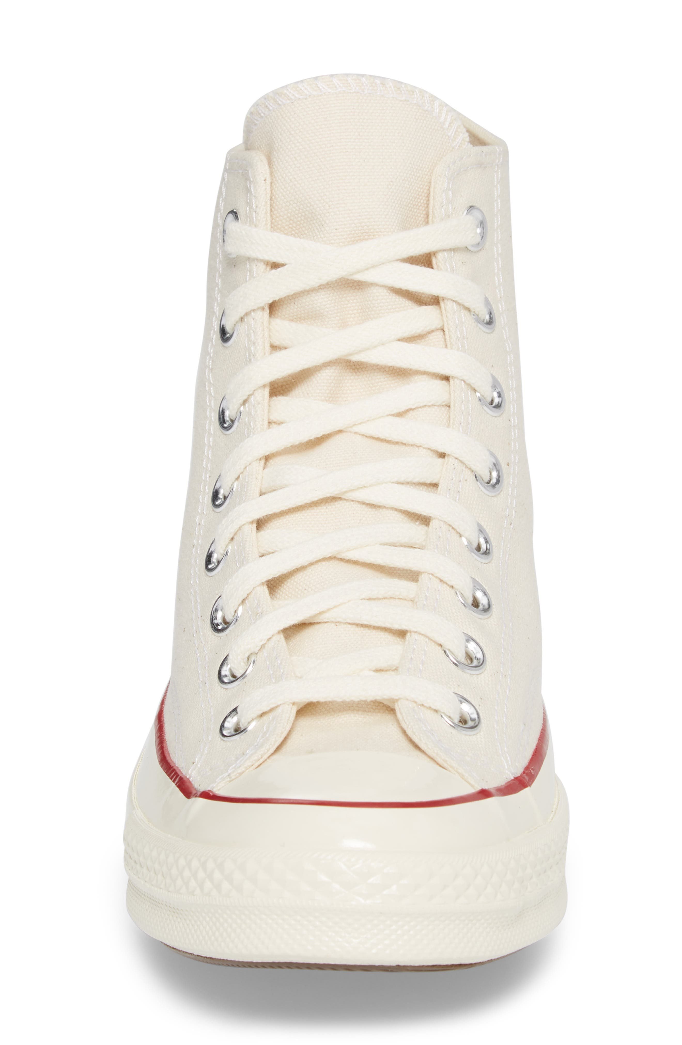 Chuck Taylor<sup>®</sup> All Star<sup>®</sup> 70 High Top Sneaker,                             Alternate thumbnail 4, color,                             Parchment