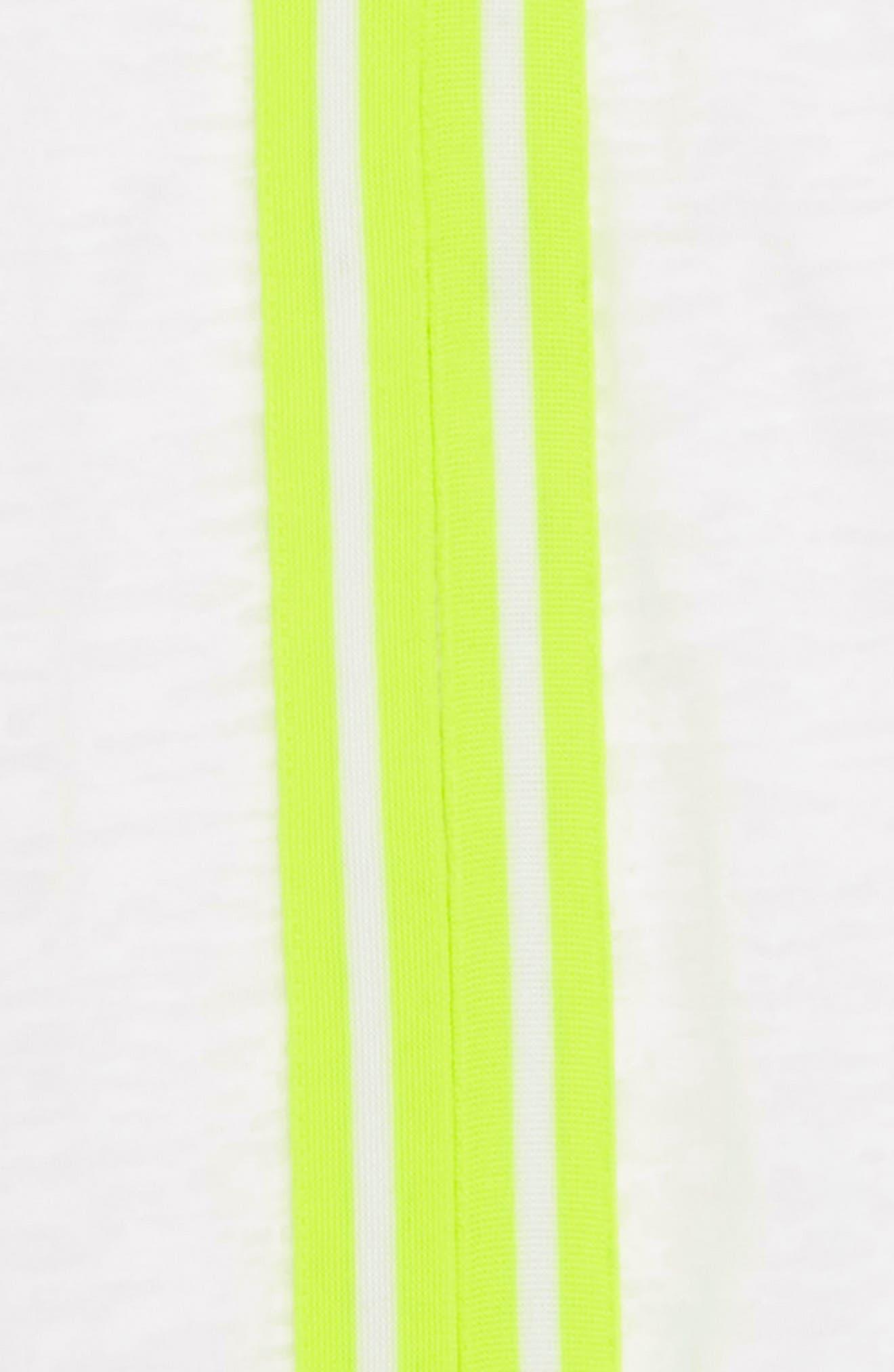 Zella Neon Hooded Cover-Up Dress,                             Alternate thumbnail 2, color,                             White