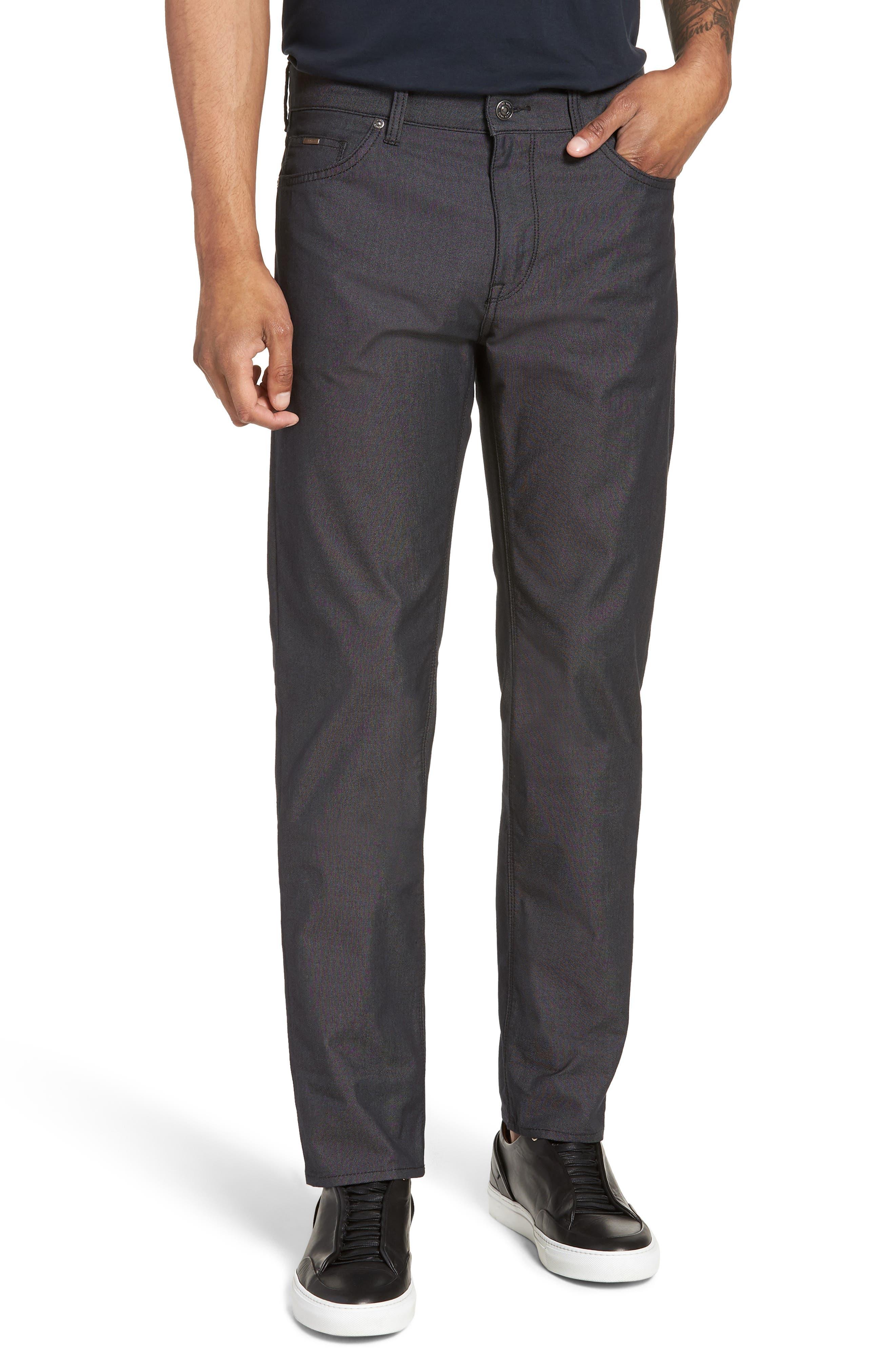 Maine Straight Leg Jeans,                         Main,                         color, Black
