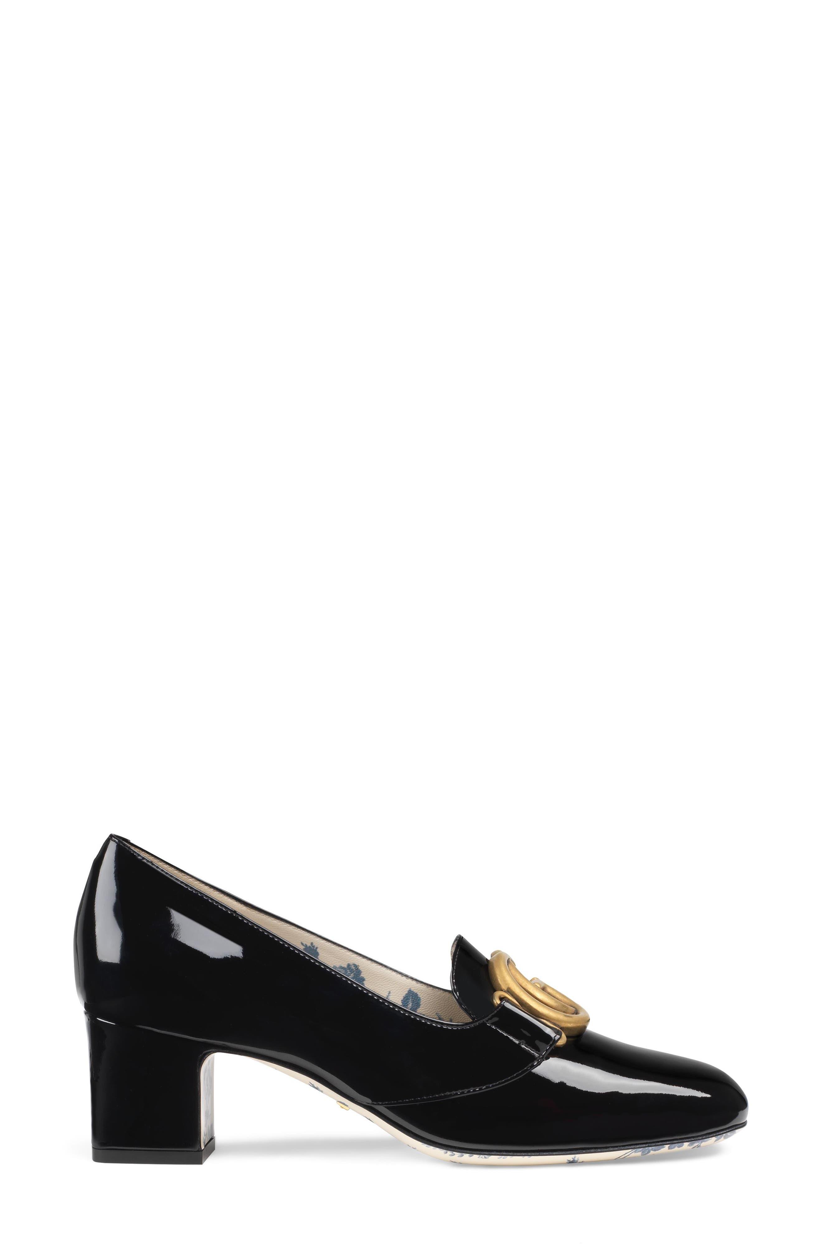 Loafer Pump,                             Alternate thumbnail 2, color,                             Black