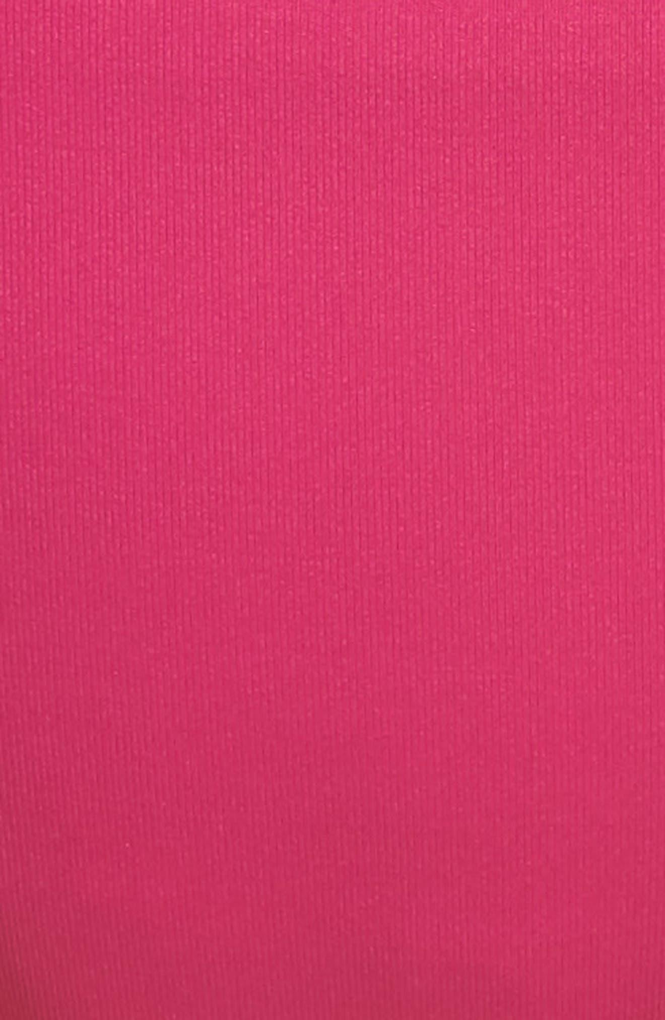 Color Code Hipster Bikini Bottoms,                             Alternate thumbnail 5, color,                             Flamingo