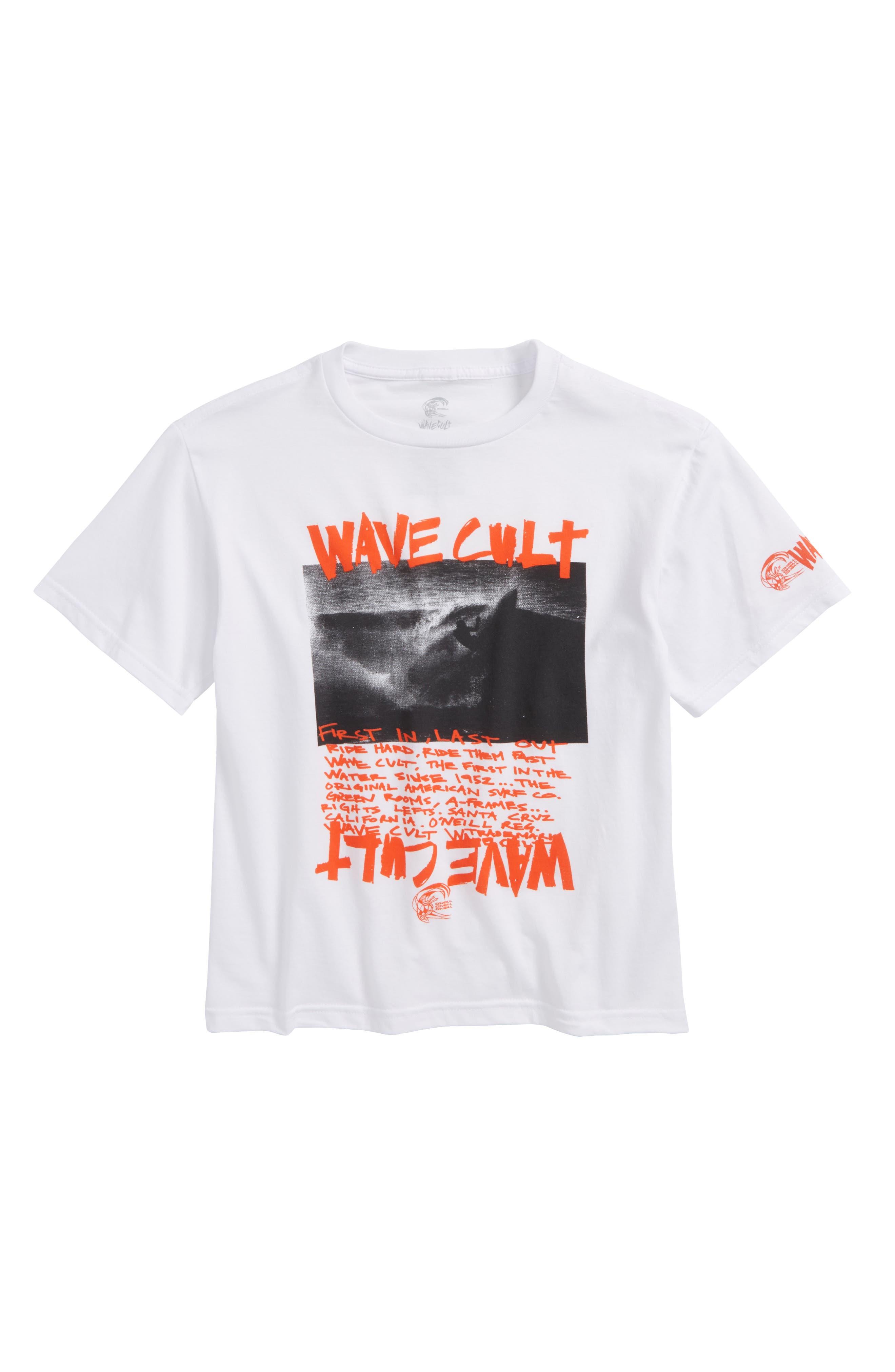 O'Neill Wave Cult T-Shirt (Big Boys)