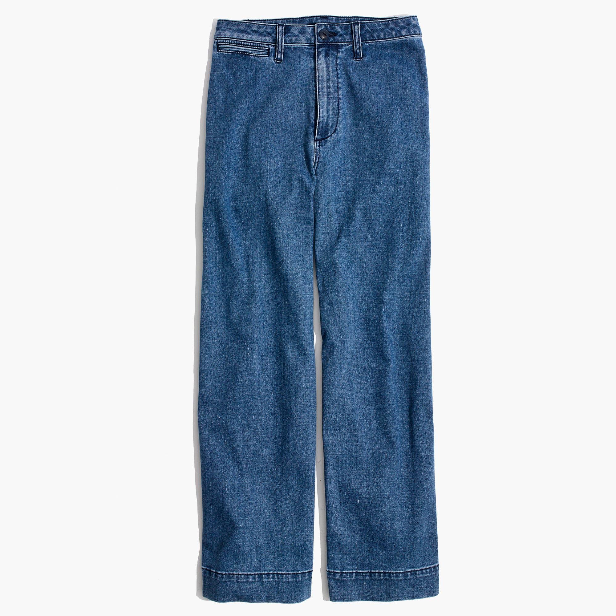 Emmett Crop Wide Leg Jeans,                             Alternate thumbnail 3, color,                             Rosalie
