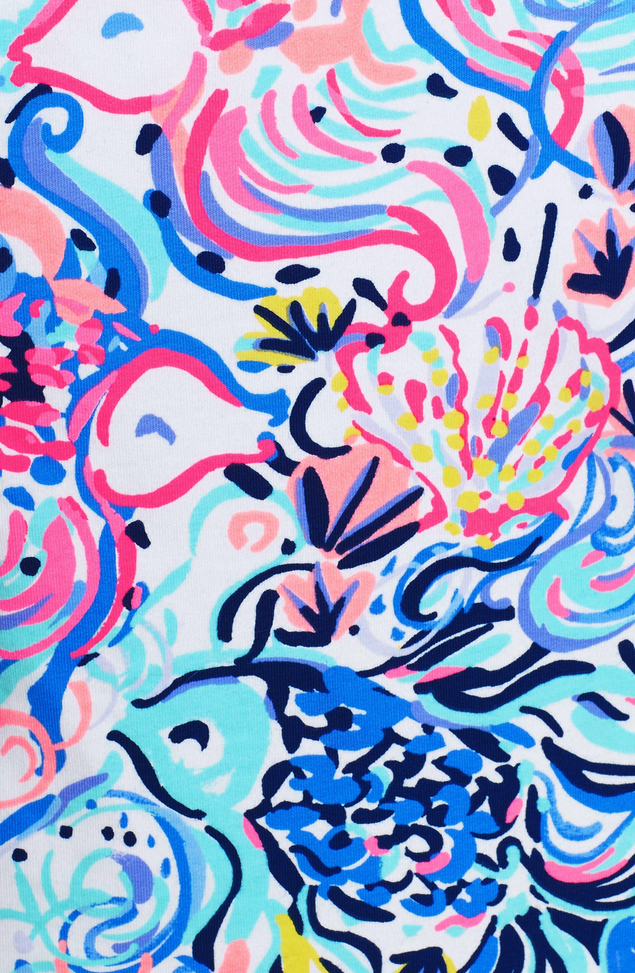 Skipper UPF 50+ Dress,                             Alternate thumbnail 5, color,                             Multi So Sophishticated