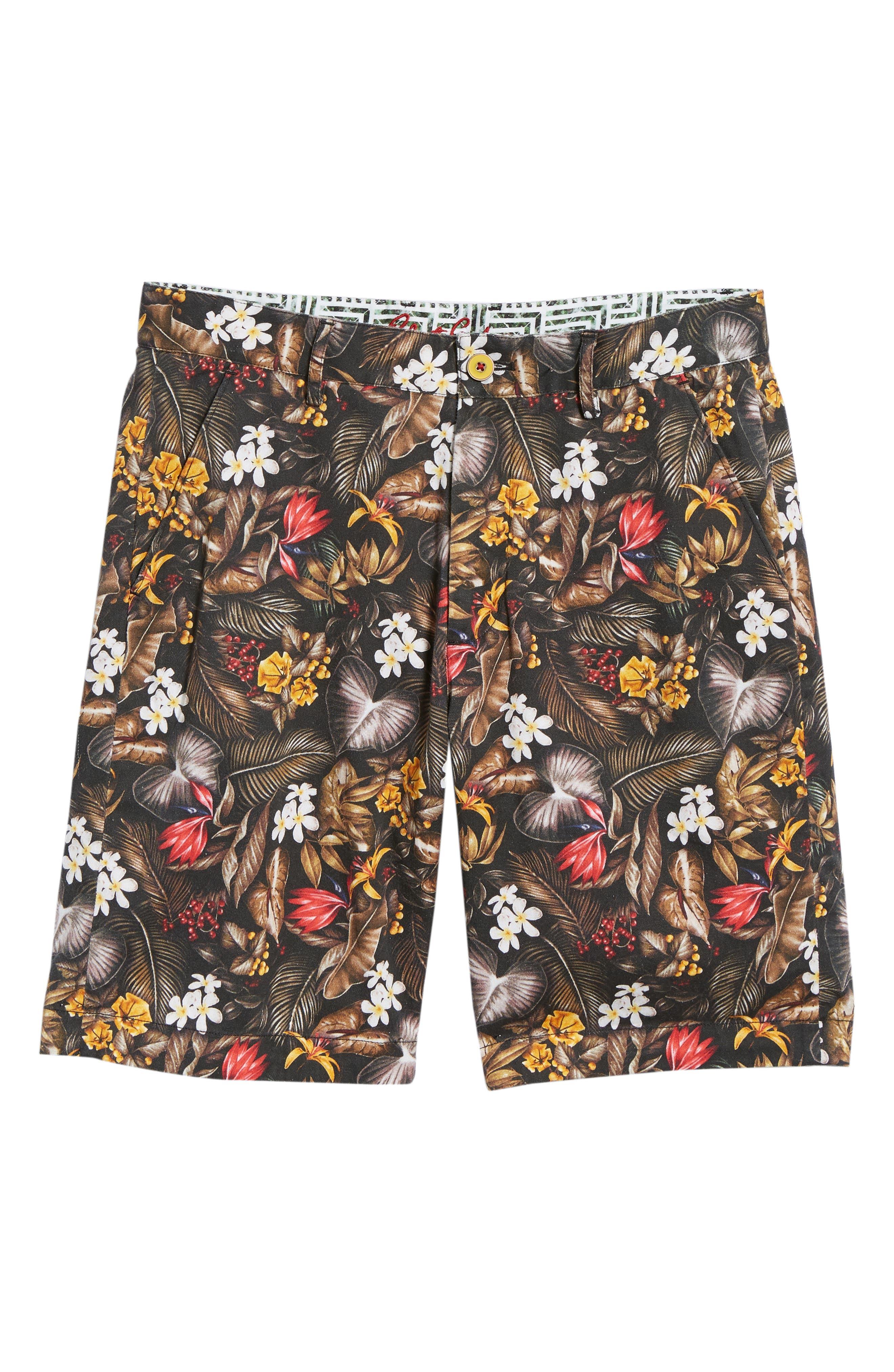 Maracas Woven Shorts,                             Alternate thumbnail 5, color,                             Multi