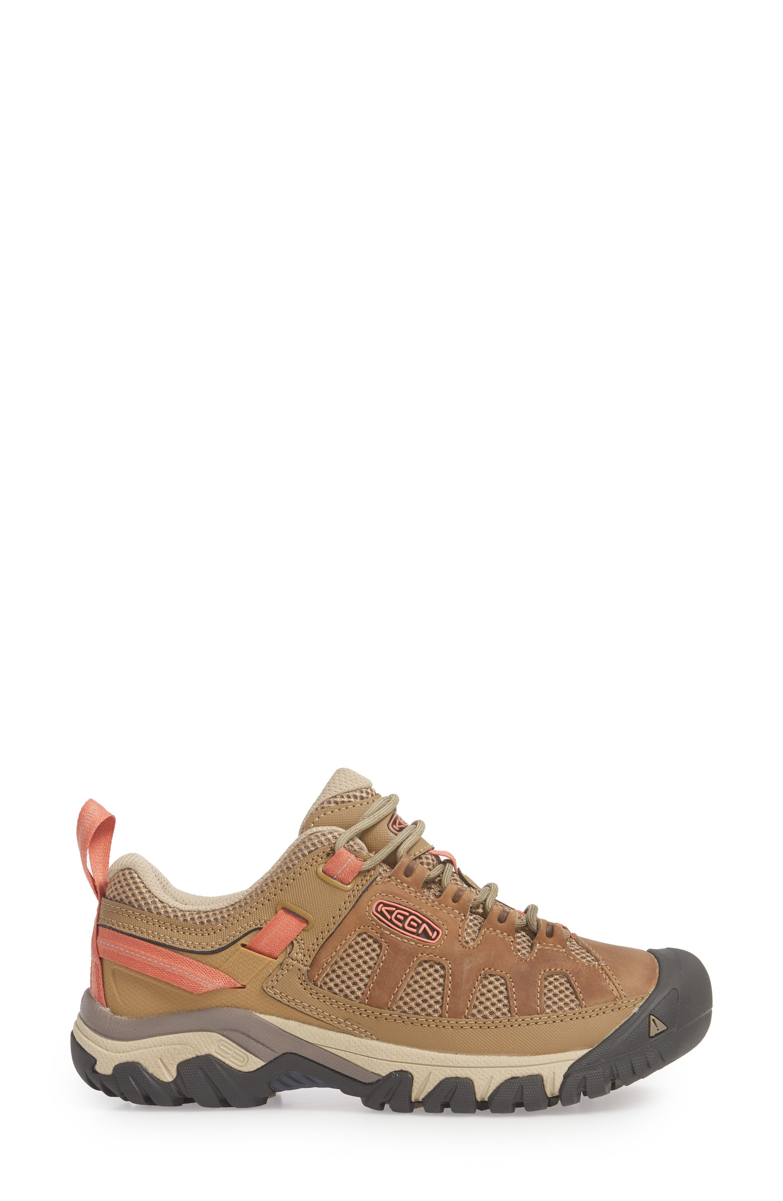 Targhee Vent Hiking Shoe,                             Alternate thumbnail 3, color,                             Sandy/ Cornstalk Leather