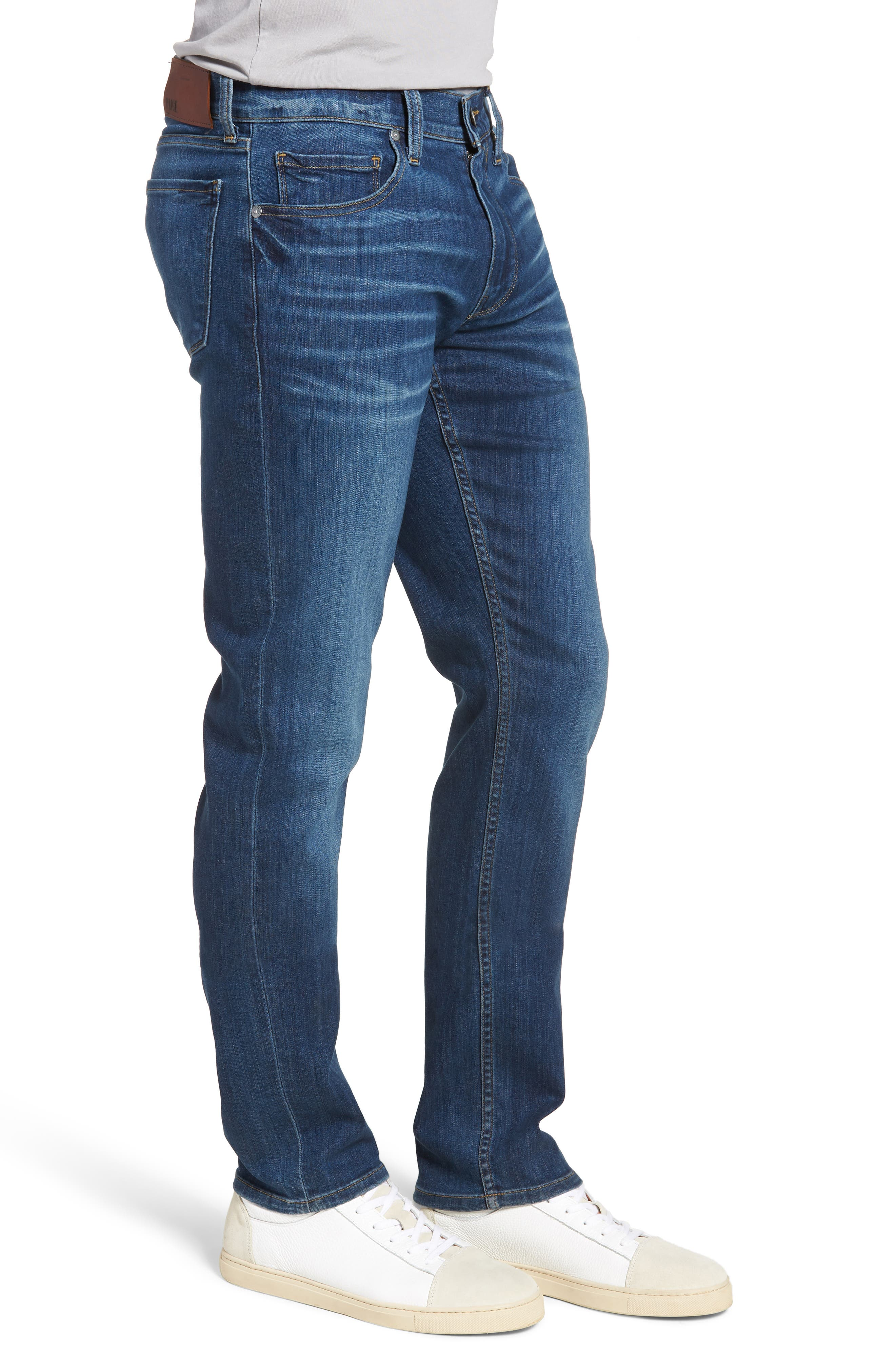 Transcend - Lennox Slim Fit Jeans,                             Alternate thumbnail 3, color,                             Ashbrook