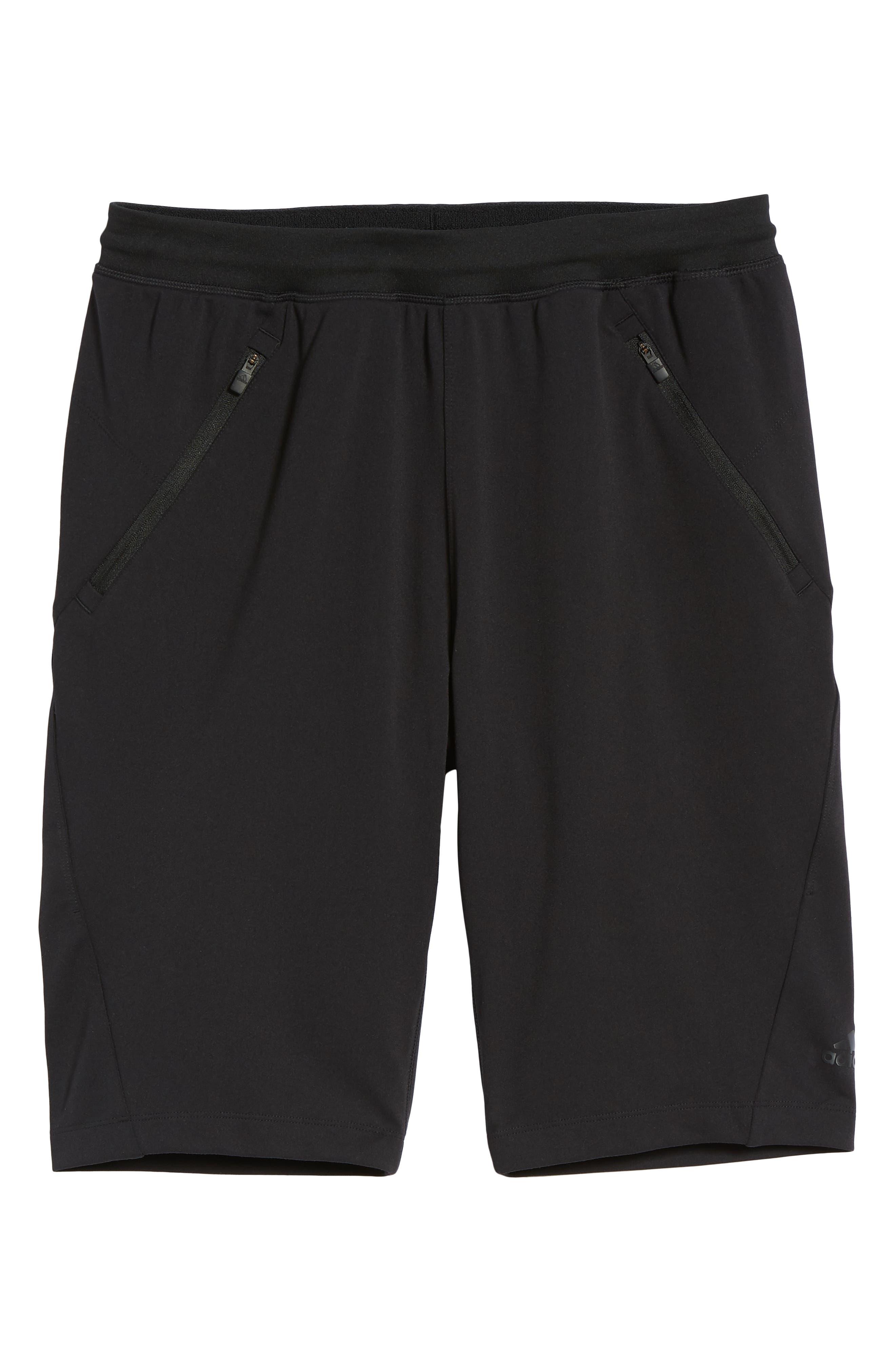 Ultimate Transitional Regular Fit Shorts,                             Alternate thumbnail 6, color,                             Black