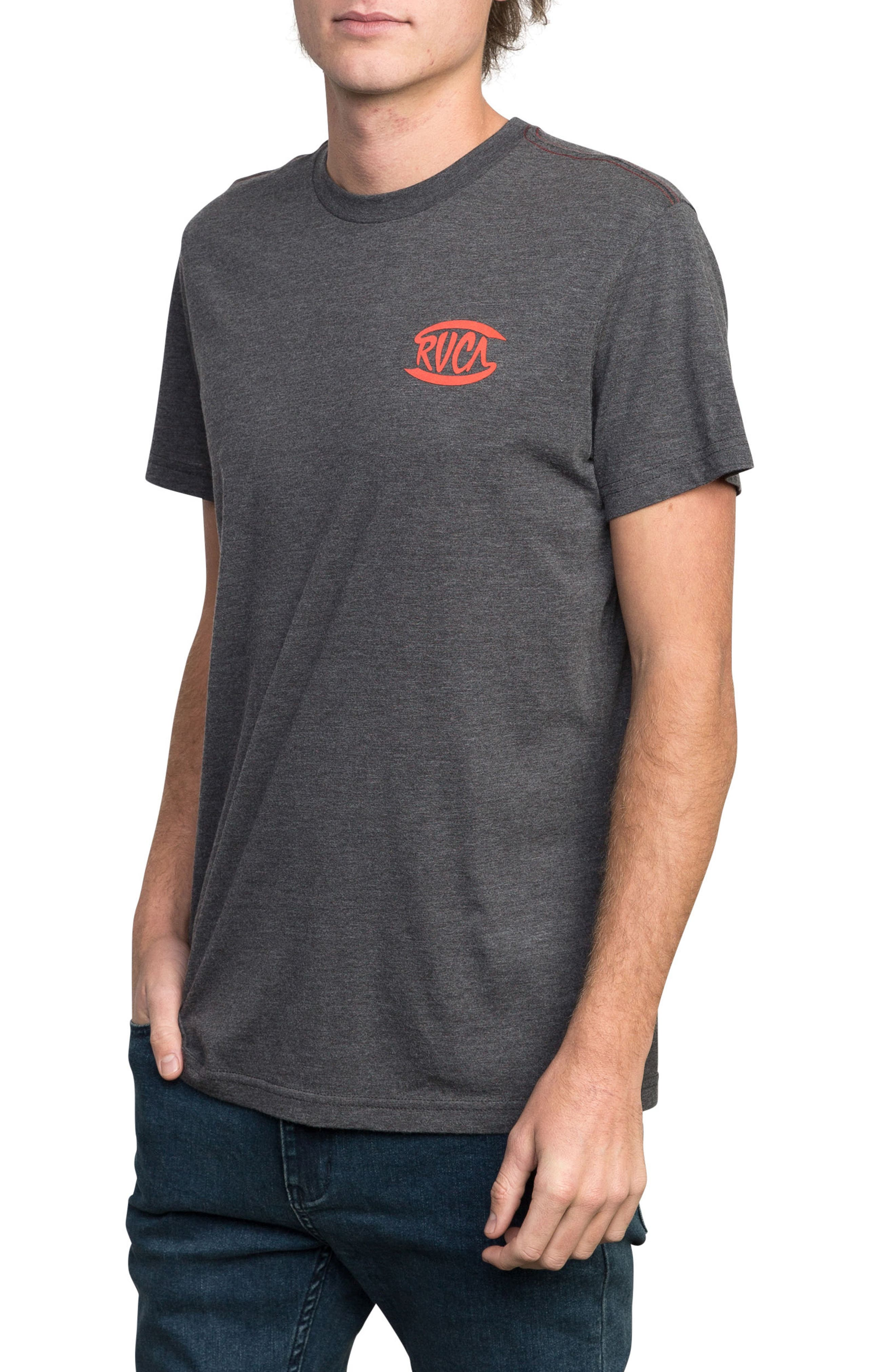 Clutch Logo Graphic T-Shirt,                             Alternate thumbnail 3, color,                             Black