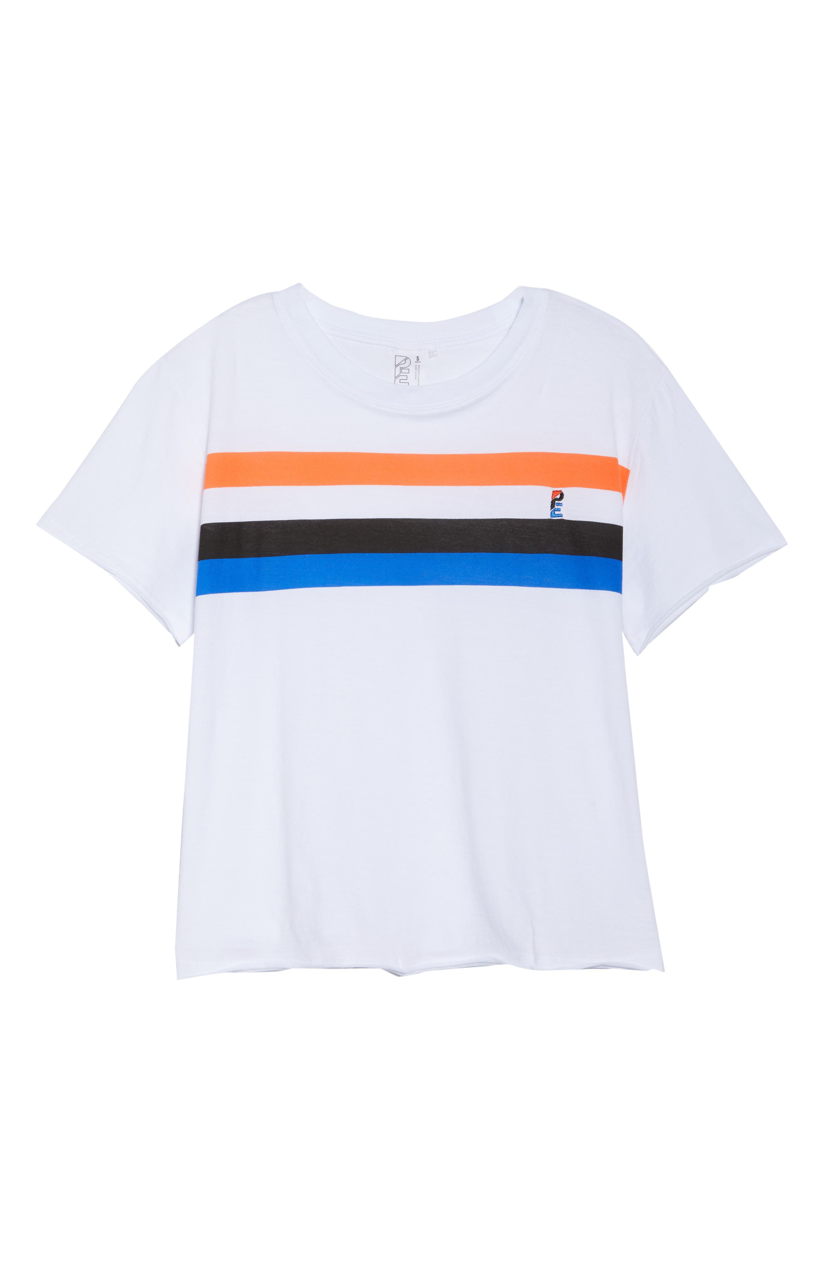 Middle Distance Tee,                             Alternate thumbnail 7, color,                             White