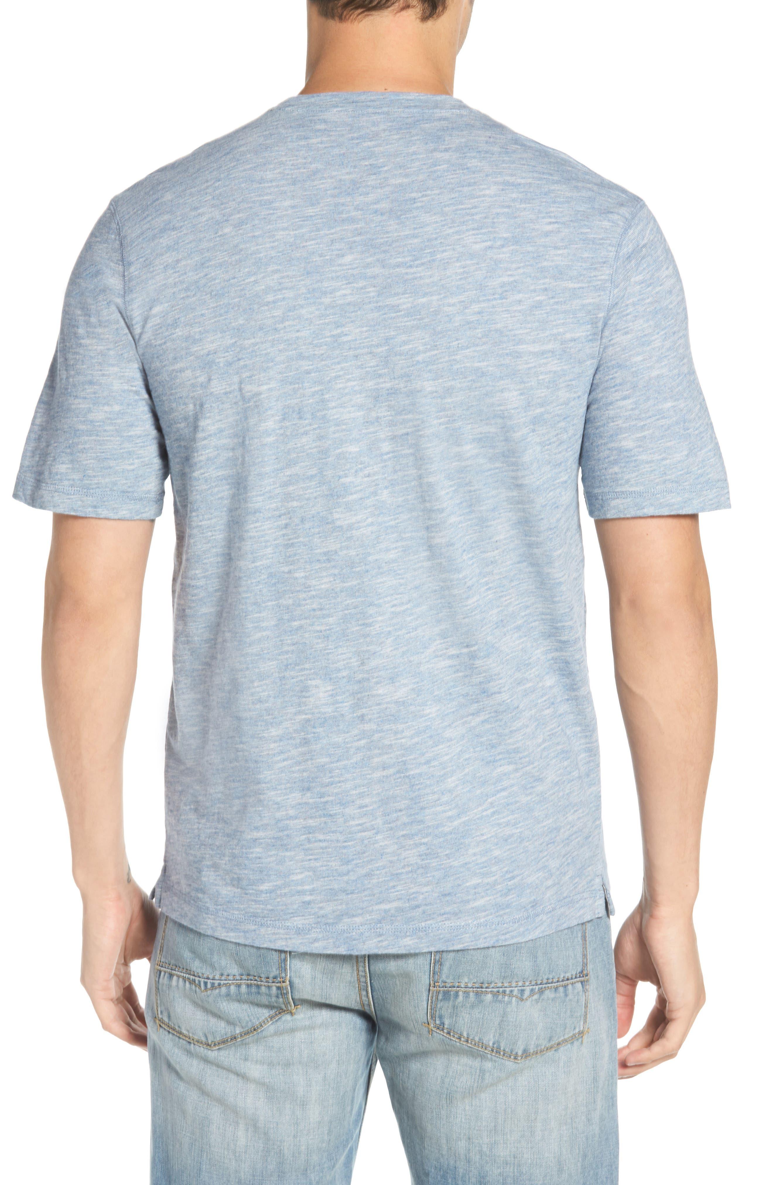 Slubbie Regular Fit Crewneck T-Shirt,                             Alternate thumbnail 2, color,                             Meteor