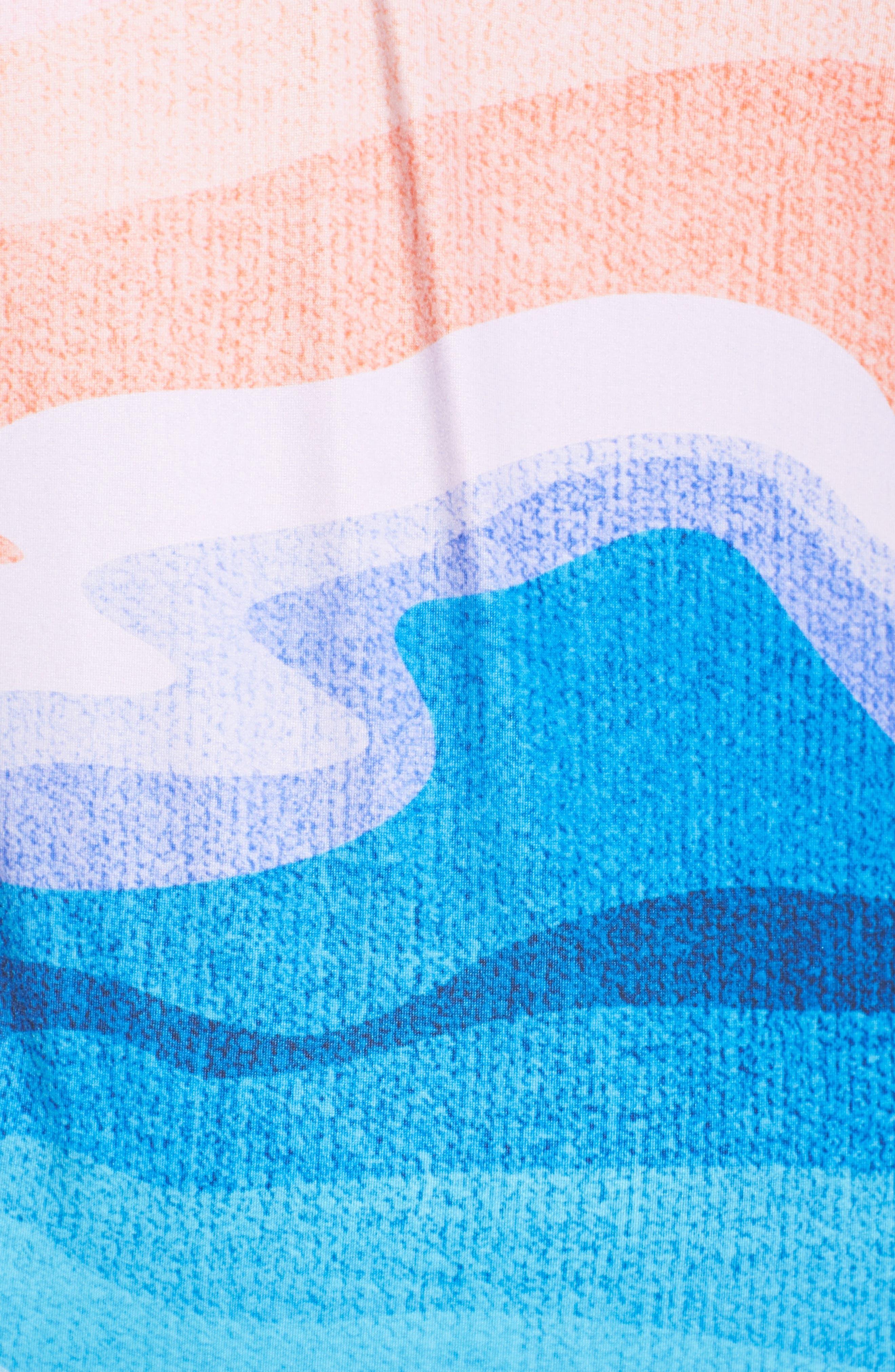 Sea Trip One-Piece Swimsuit,                             Alternate thumbnail 5, color,                             Mirage