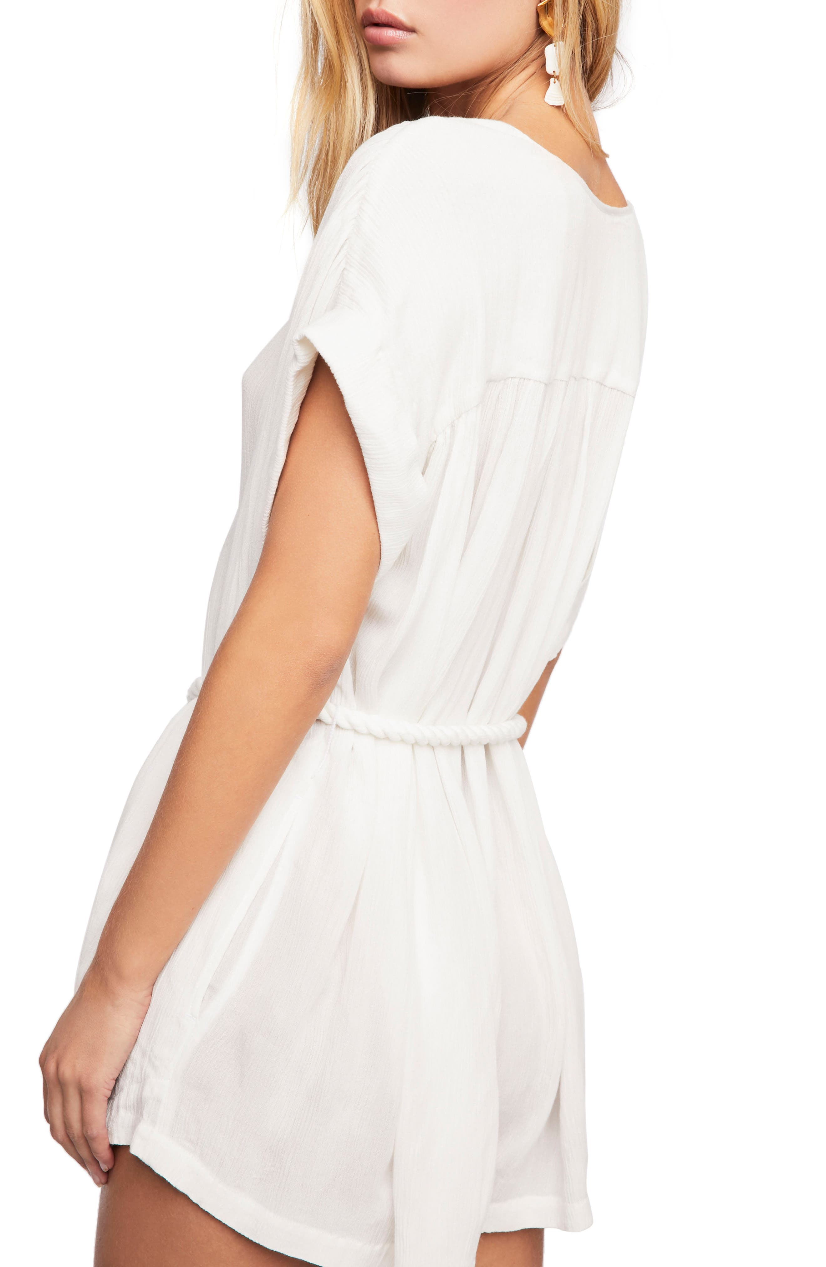 Endless Summer by Free People Spanish Summer Romper,                             Alternate thumbnail 2, color,                             Neutral