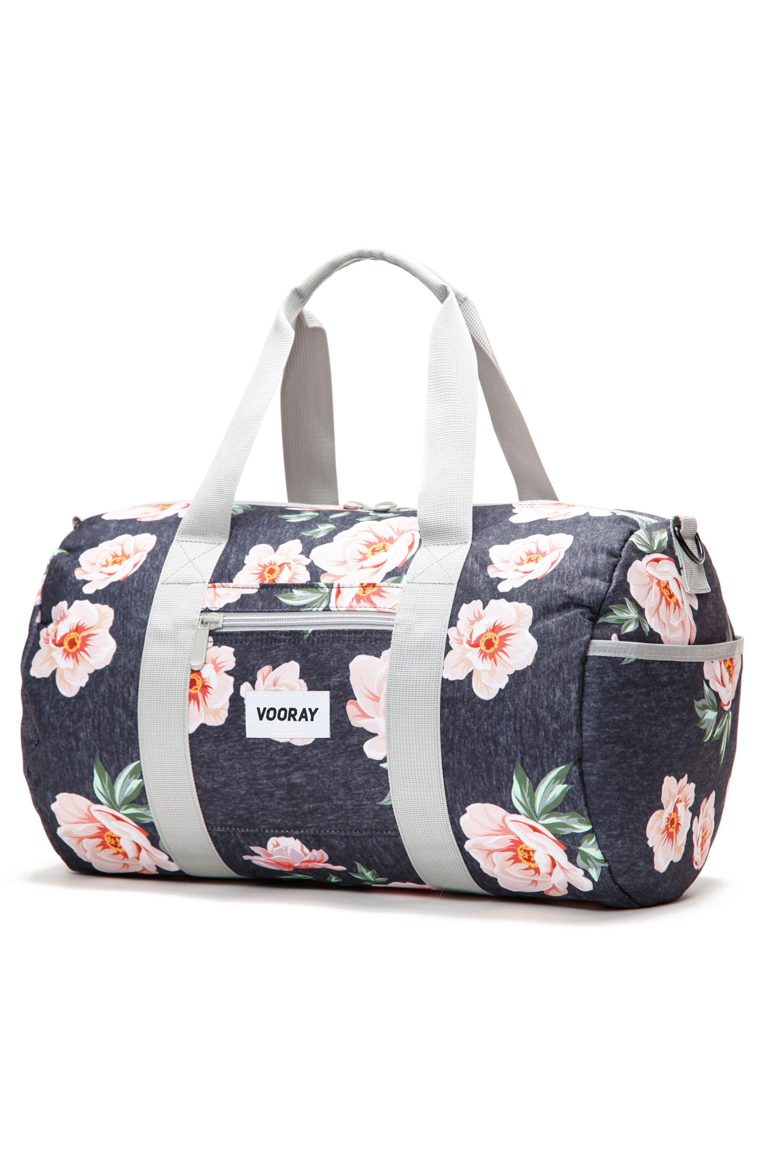Roadie Small Duffel Bag,                             Alternate thumbnail 2, color,                             Rose Navy