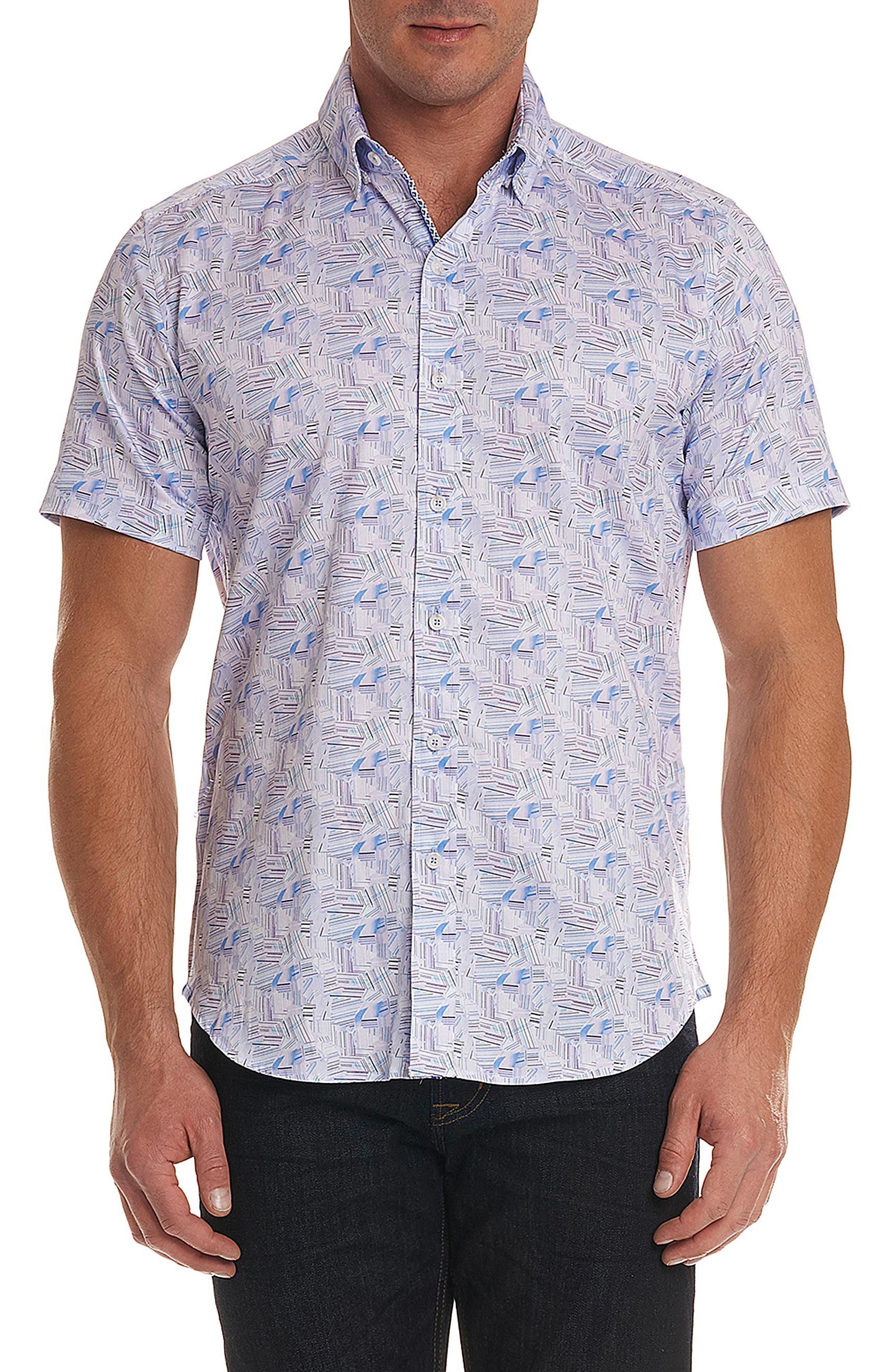 Robert Graham Gilby Print Sport Shirt