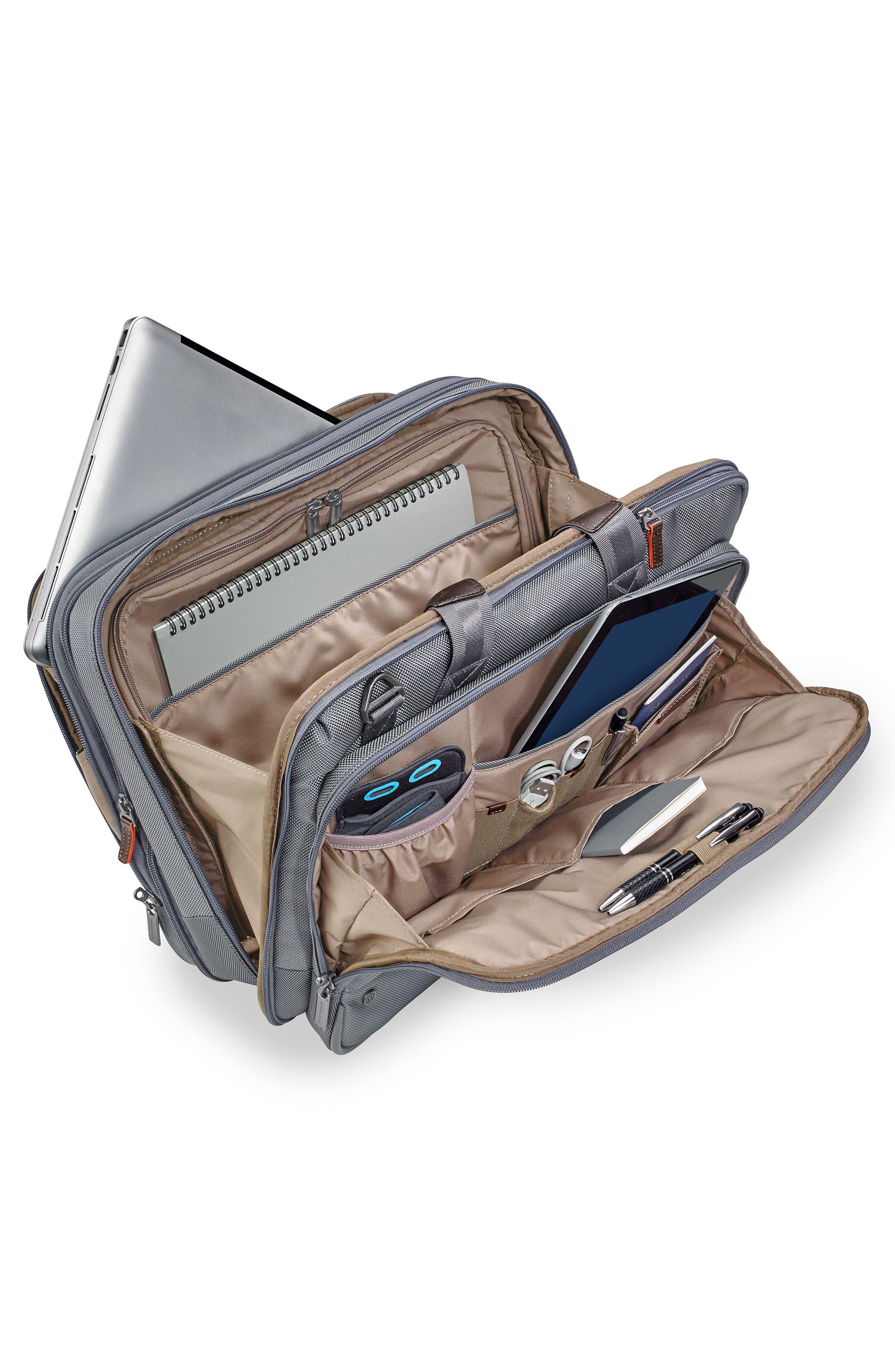 @work Expandable Briefcase,                             Alternate thumbnail 4, color,                             Grey