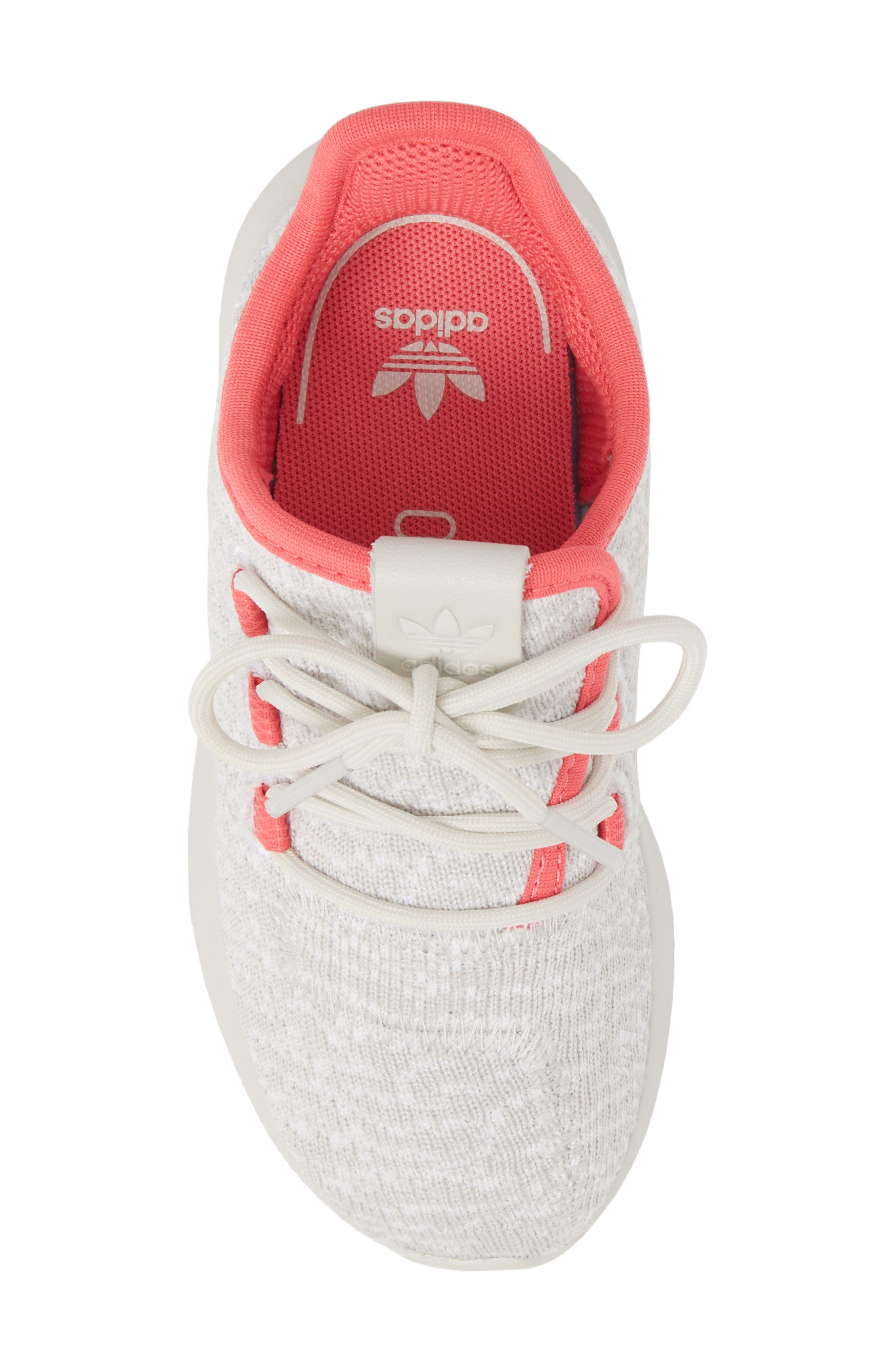 Tubular Shadow Sneaker,                             Alternate thumbnail 5, color,                             Grey/ Ash Pink/ White