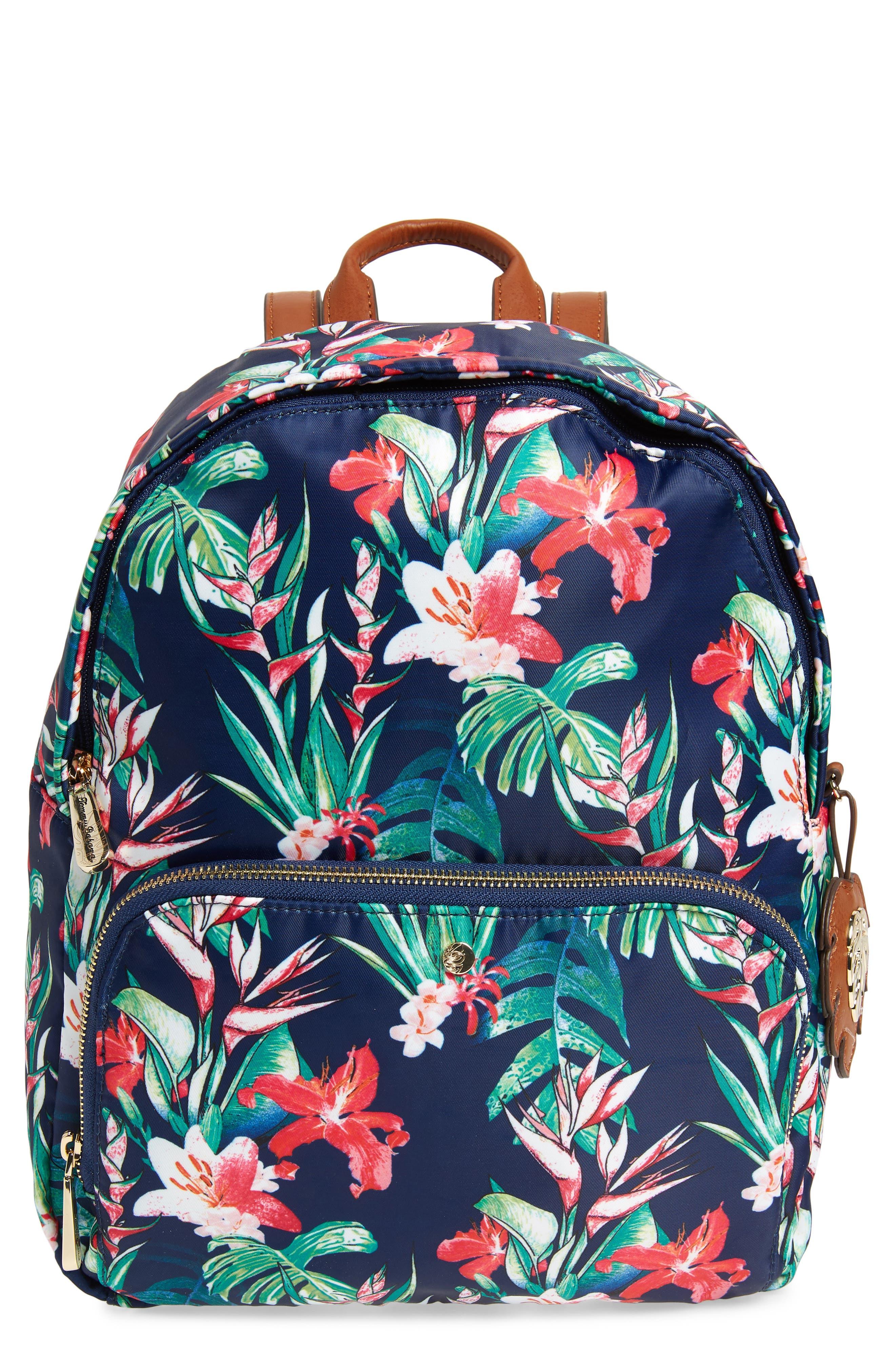 Siesta Key Backpack,                             Main thumbnail 1, color,                             Tropical Lily
