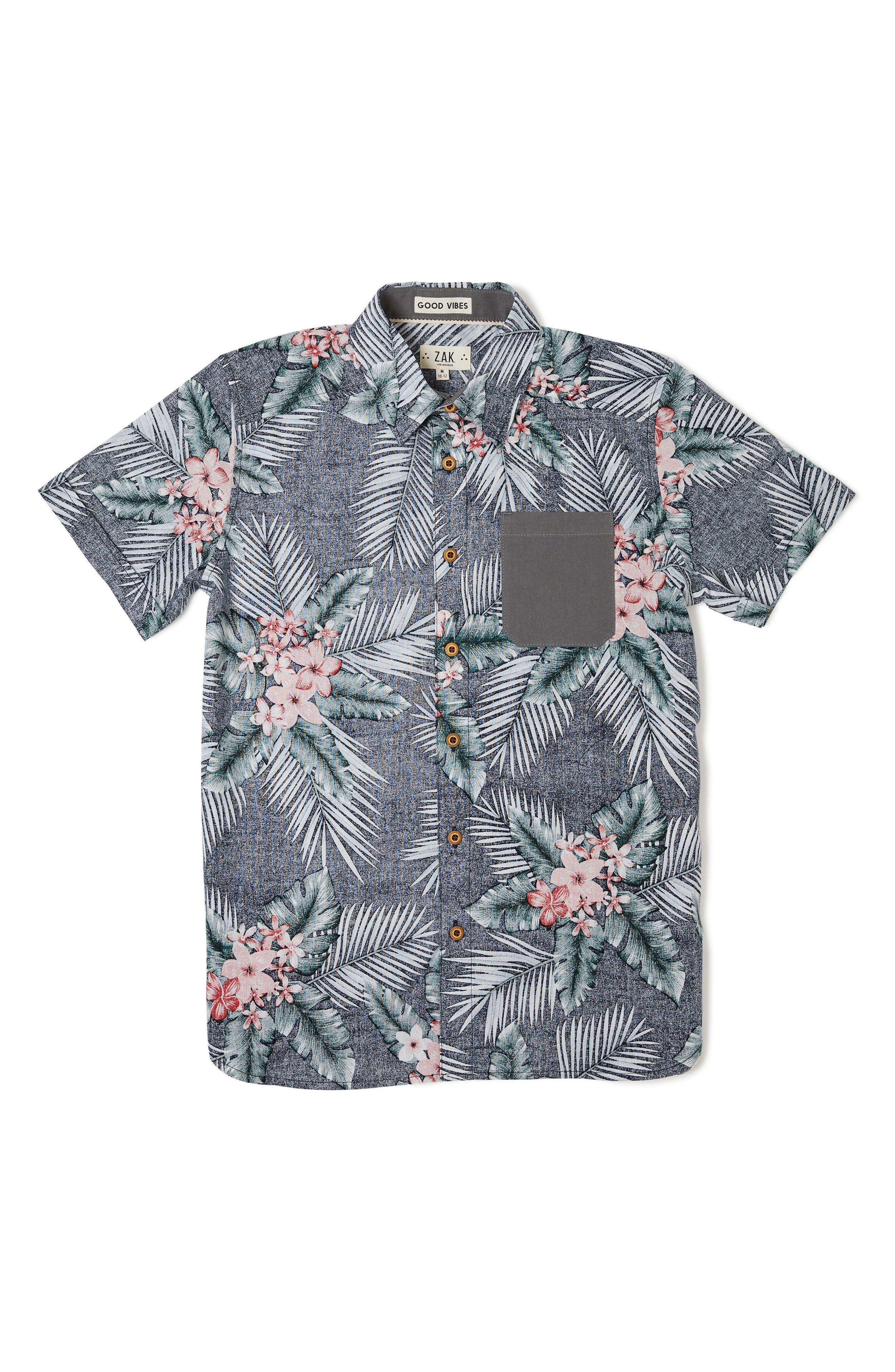 Miles Woven Shirt,                         Main,                         color, Lilac