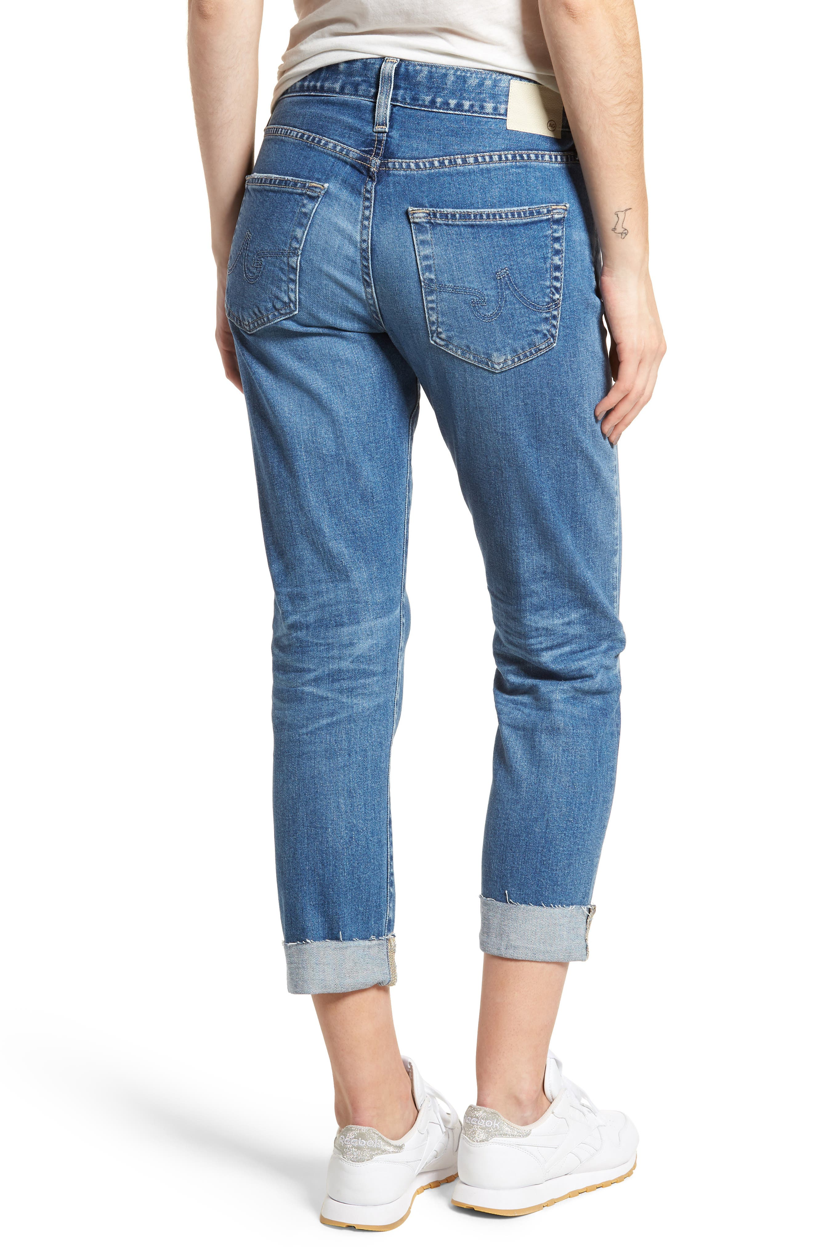 The Ex-Boyfriend Slim Jeans,                             Alternate thumbnail 2, color,                             14 Years Foxtail