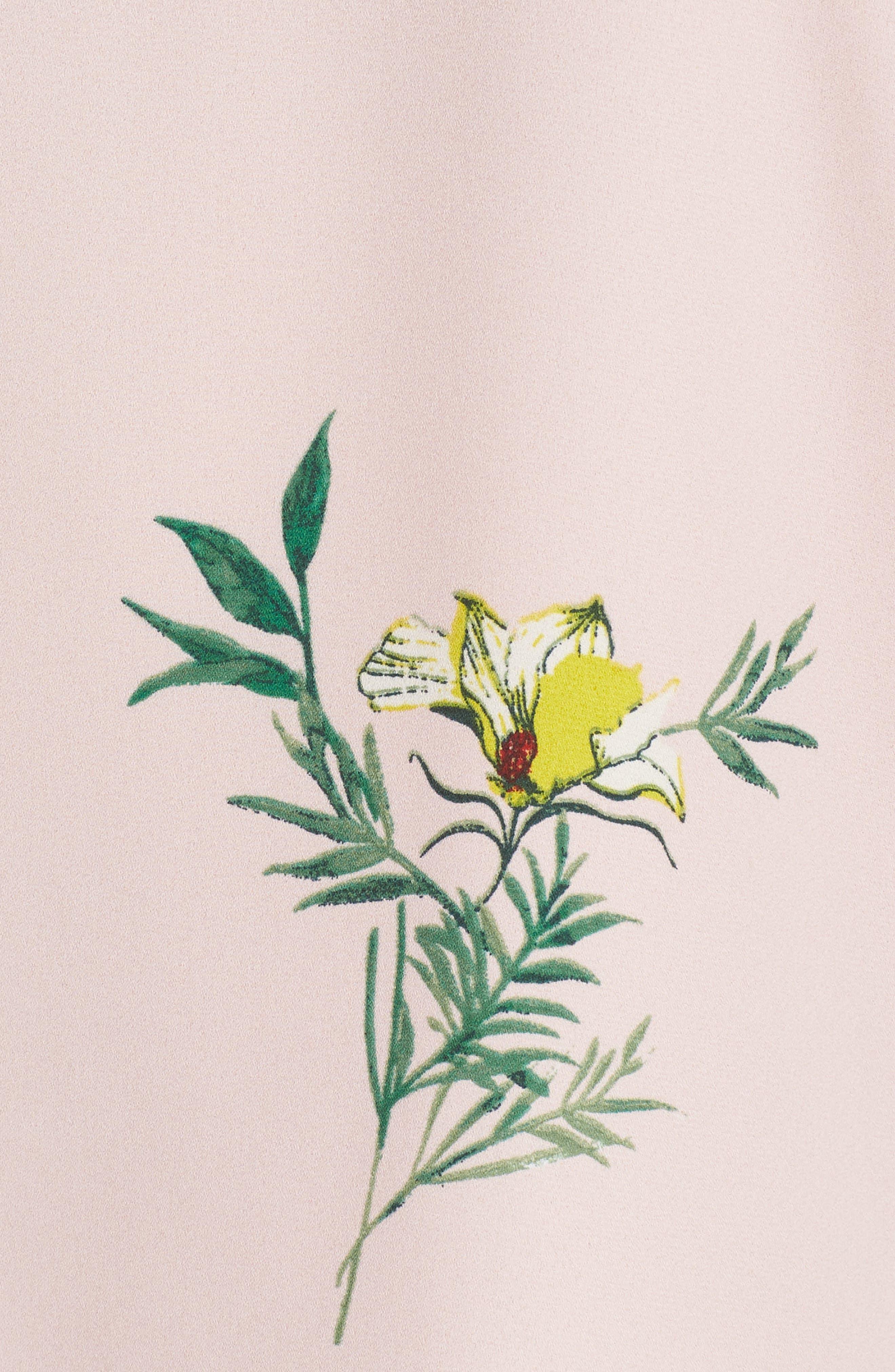 Tropical Garden Bouquet Top,                             Alternate thumbnail 6, color,                             Eden Pink