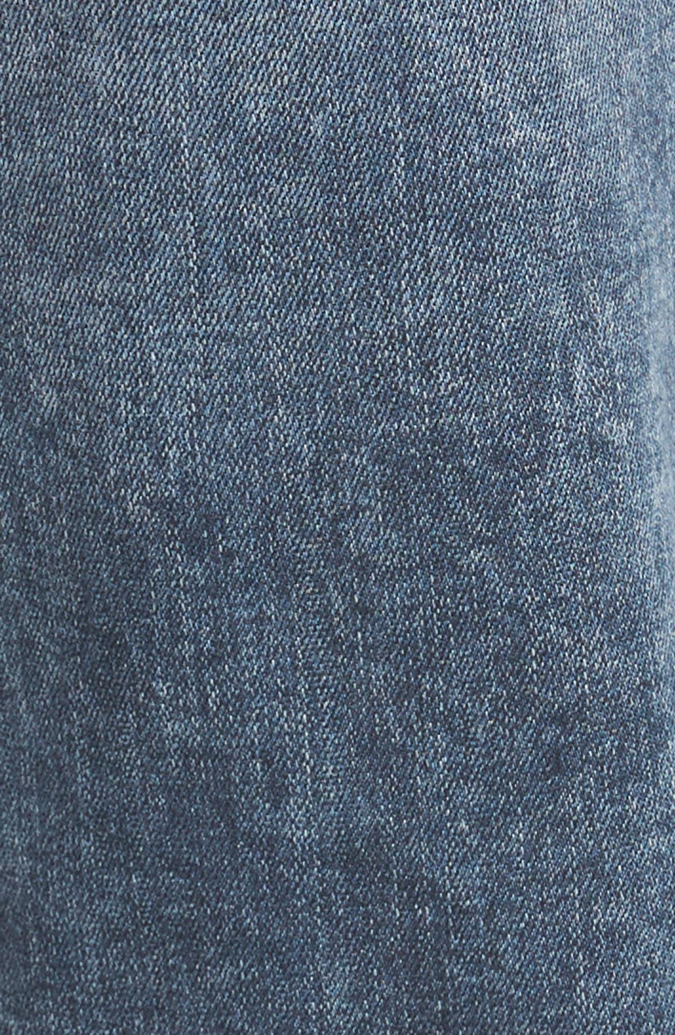 Transcend - Lennox Slim Fit Jeans,                             Alternate thumbnail 5, color,                             Higgs