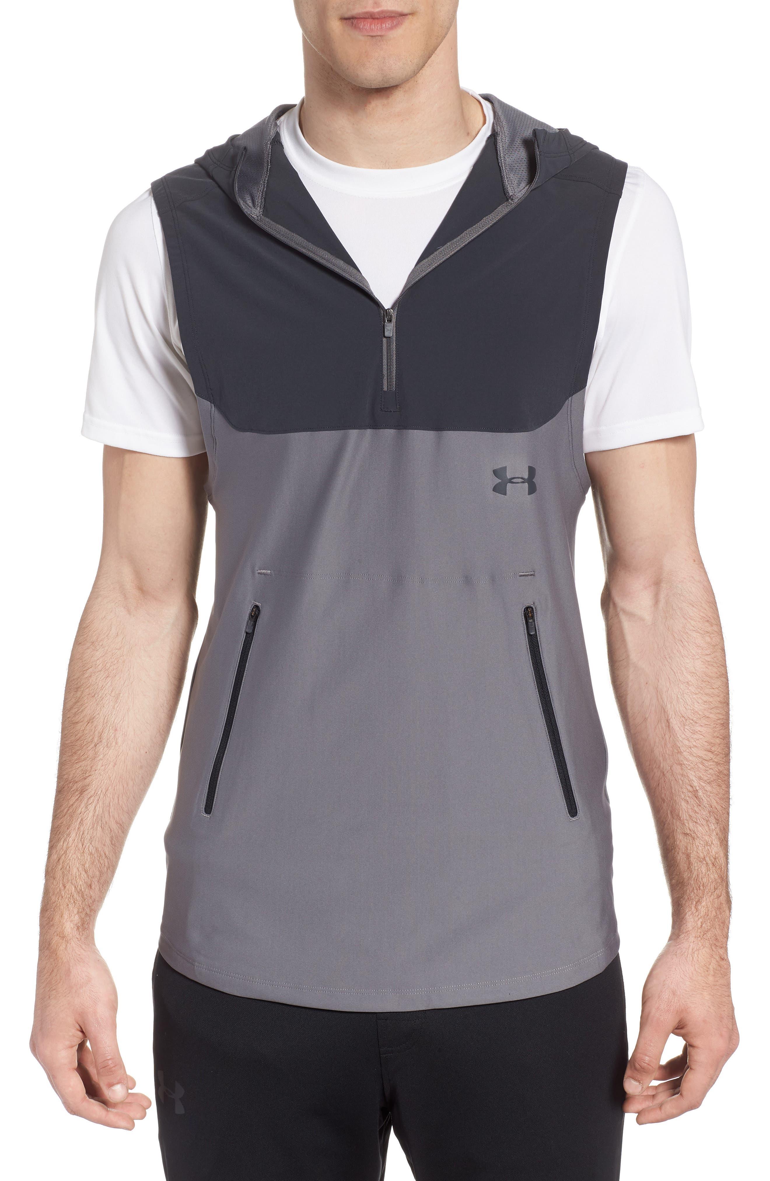 Threadborne Vanish Vest,                         Main,                         color, Anthracite / Graphite/ Iron