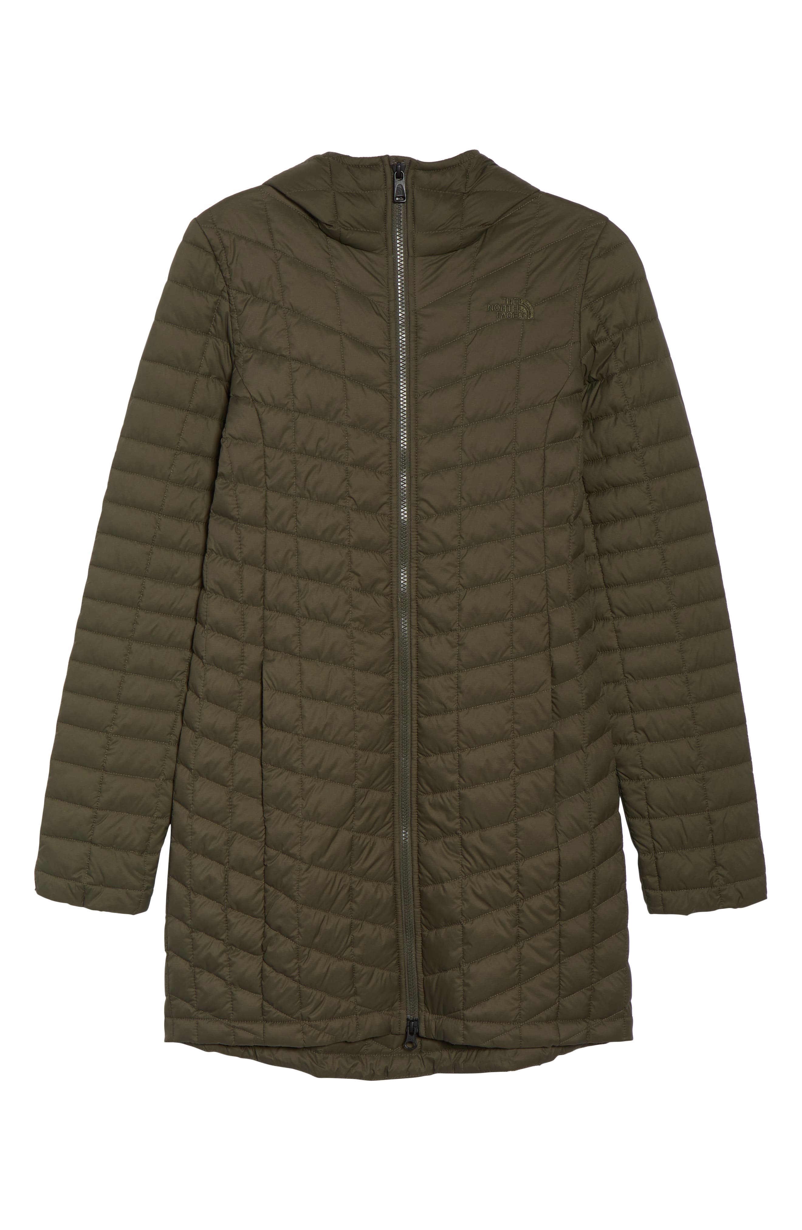 ThermoBall<sup>™</sup> PrimaLoft<sup>®</sup> Hooded Parka,                             Alternate thumbnail 8, color,                             New Taupe Green Matte