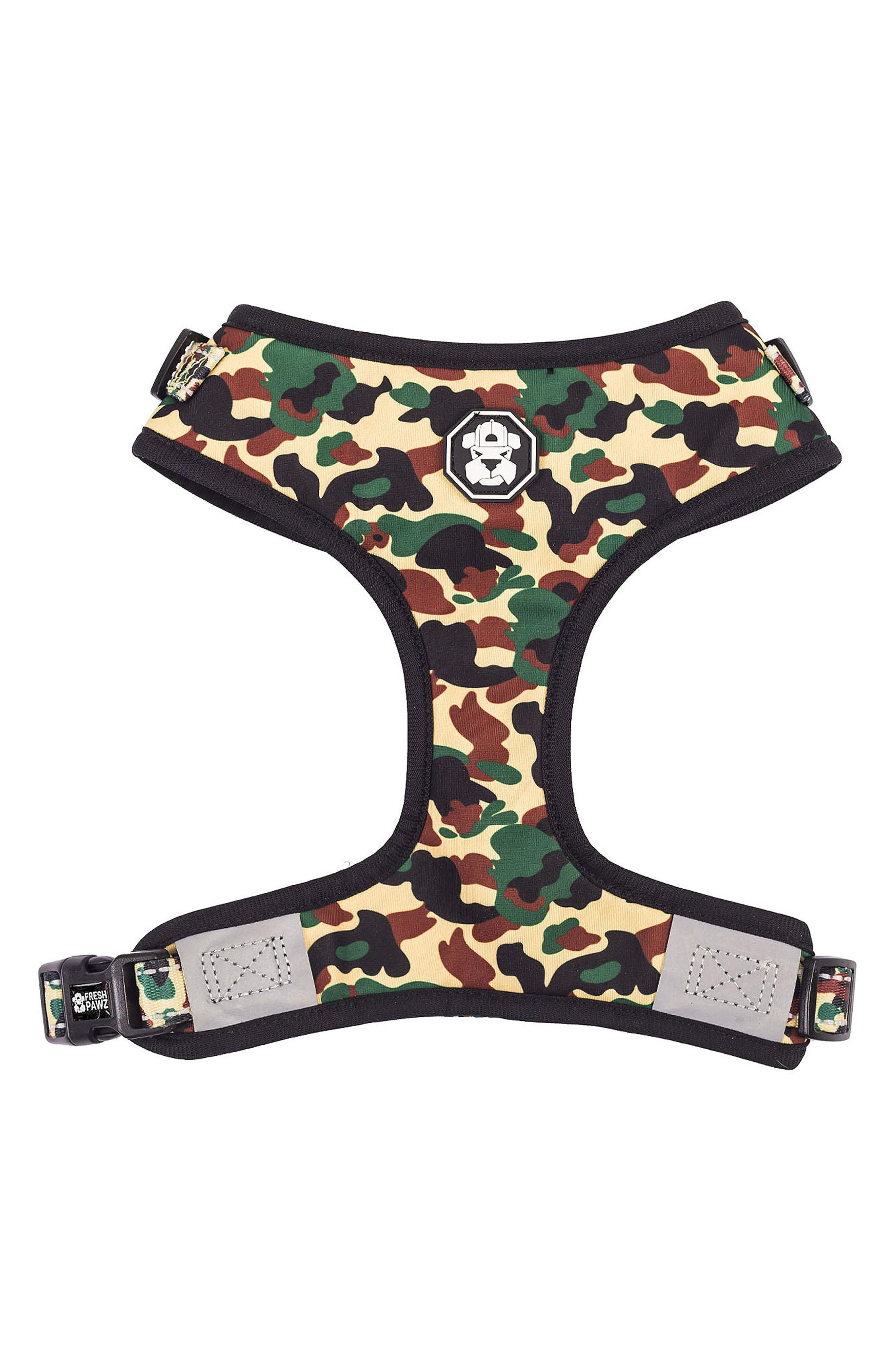 Adjustable Mesh Harness,                         Main,                         color, Hype Camo
