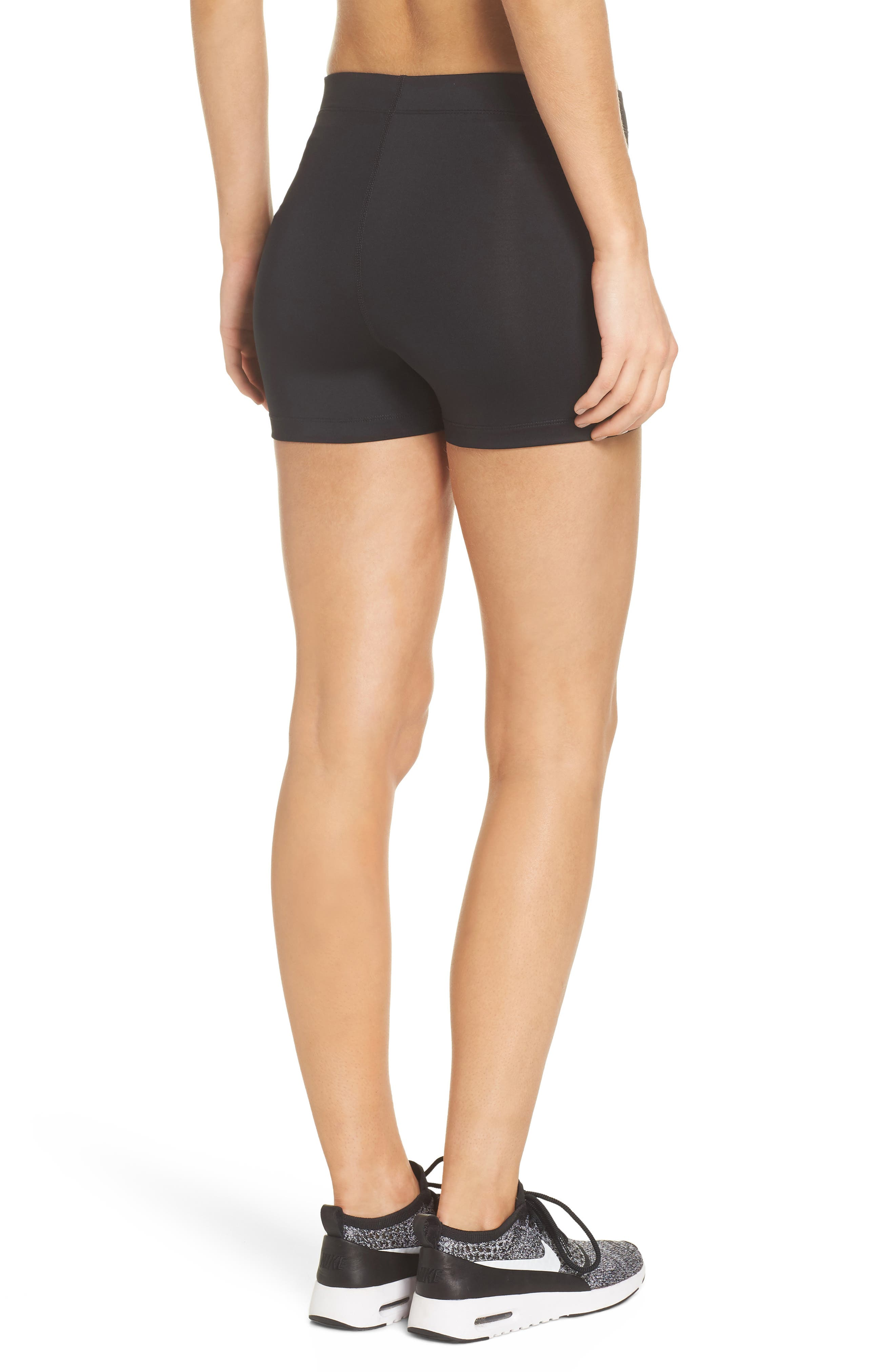 Pro Short Shorts,                             Alternate thumbnail 2, color,                             Black/ White