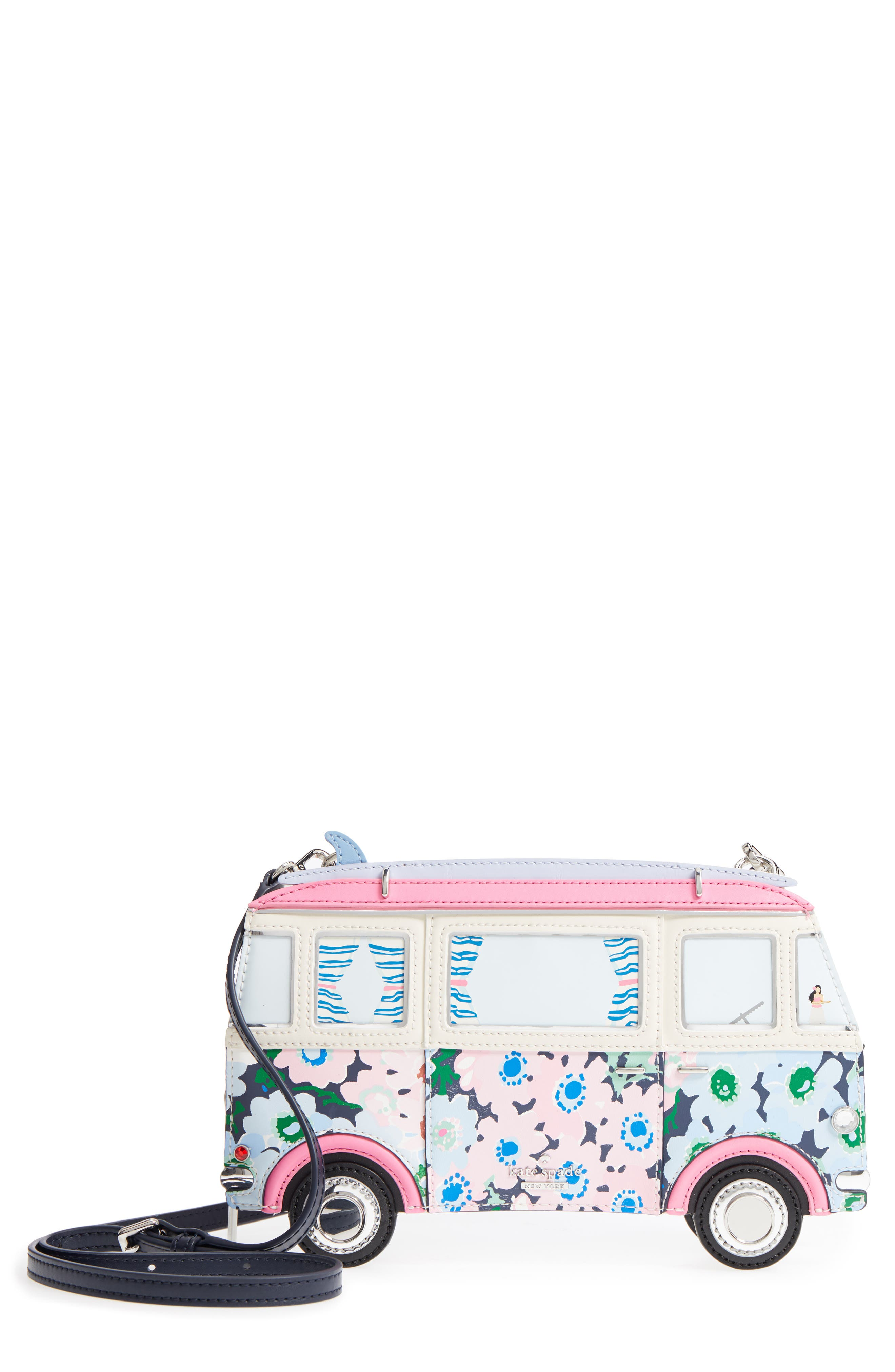 kate spade new york california dreaming - surf van crossbody bag