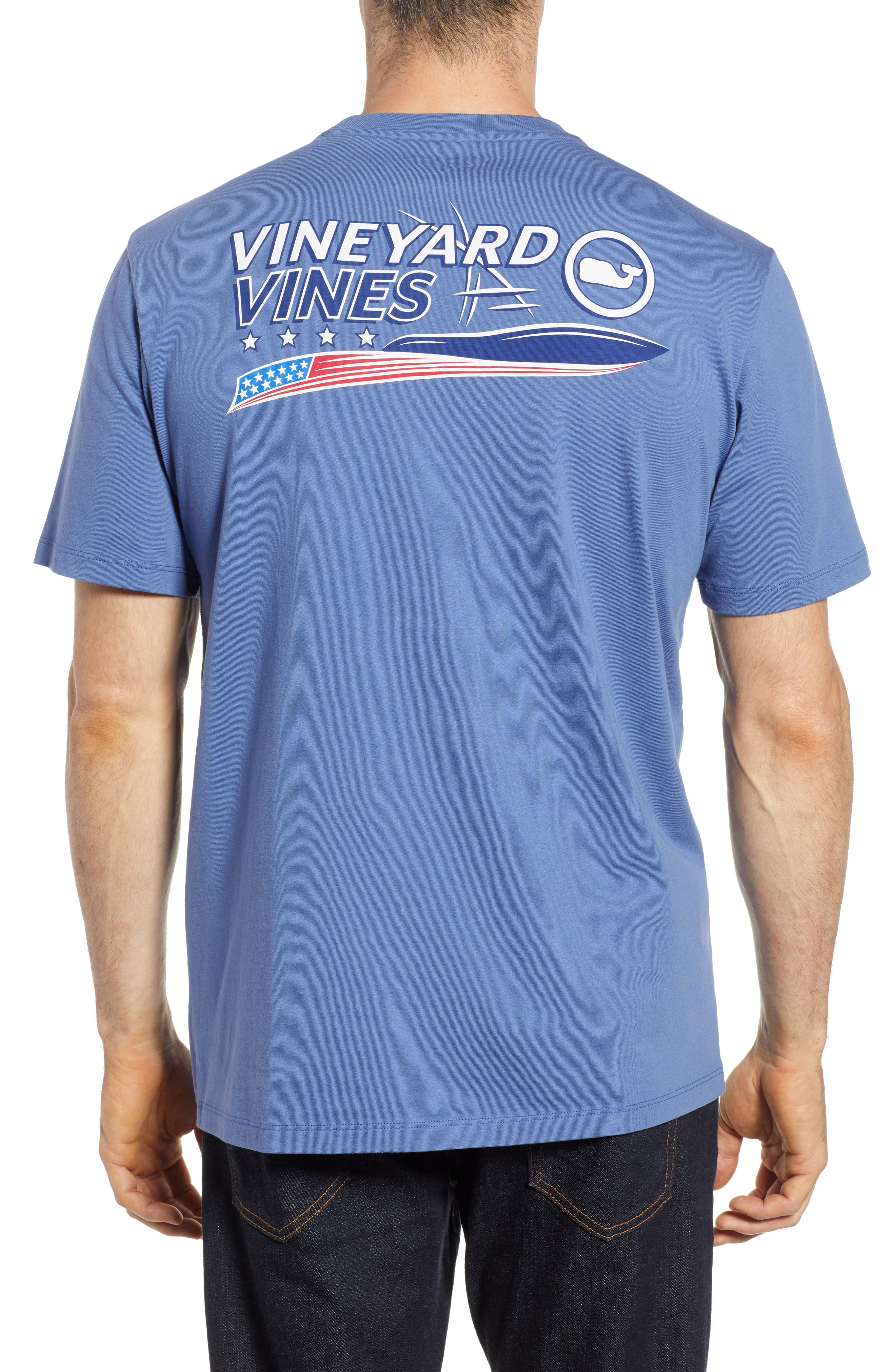 American Sportfisher T-Shirt,                             Alternate thumbnail 2, color,                             Moonshine