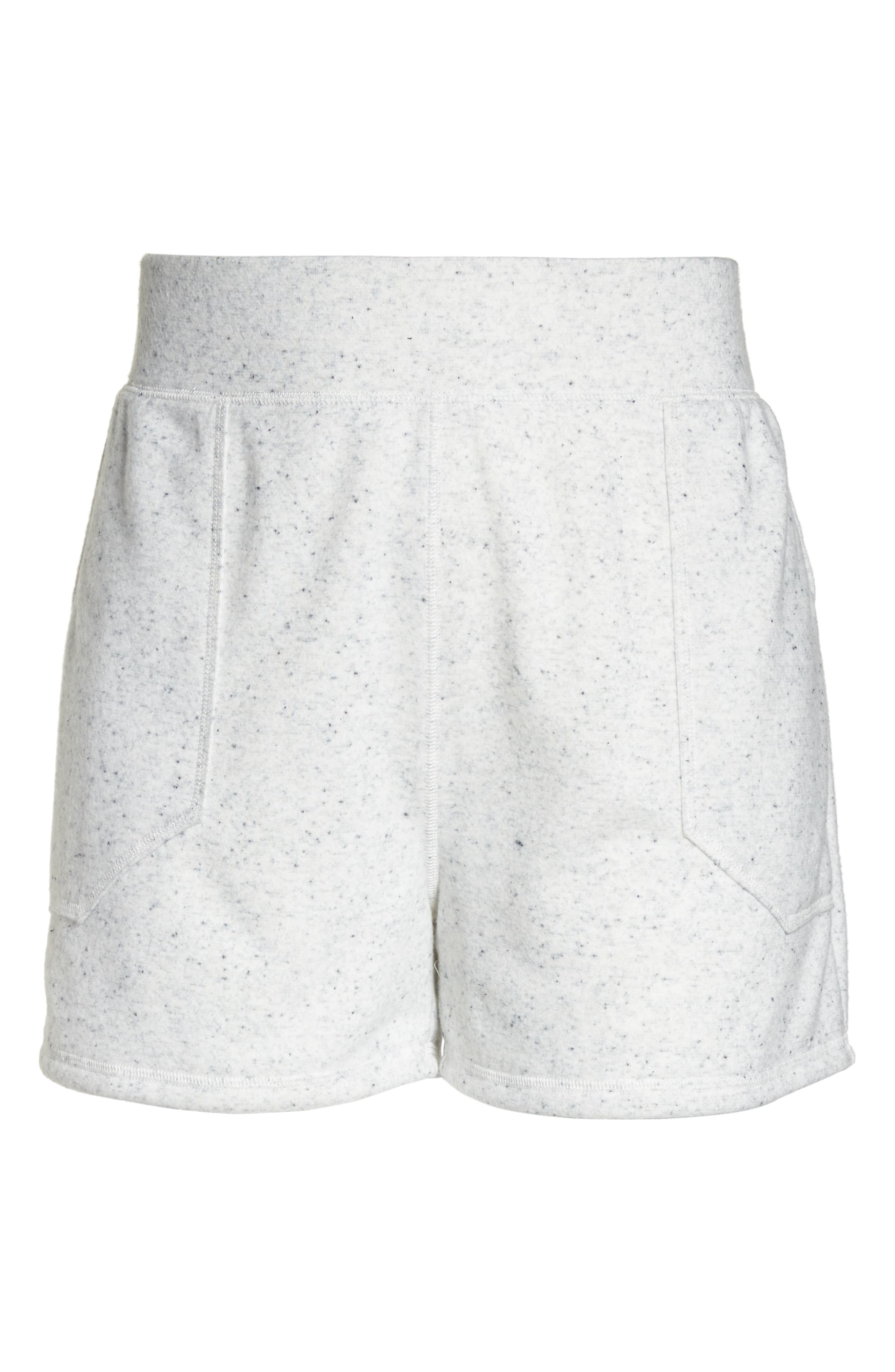 French Terry Shorts,                             Alternate thumbnail 7, color,                             Grey Heather