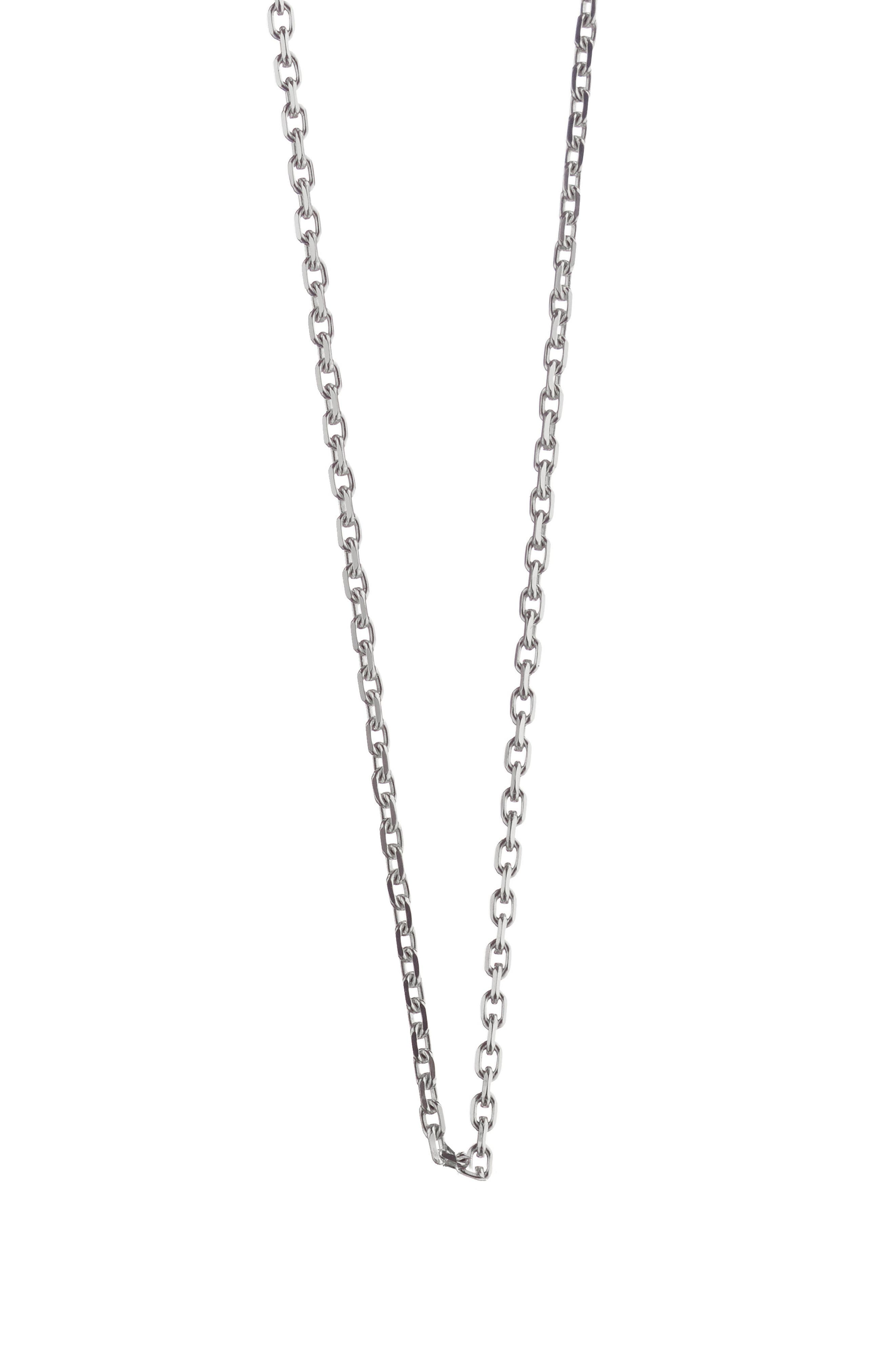 Sterling Chain,                         Main,                         color, Sterling Silver