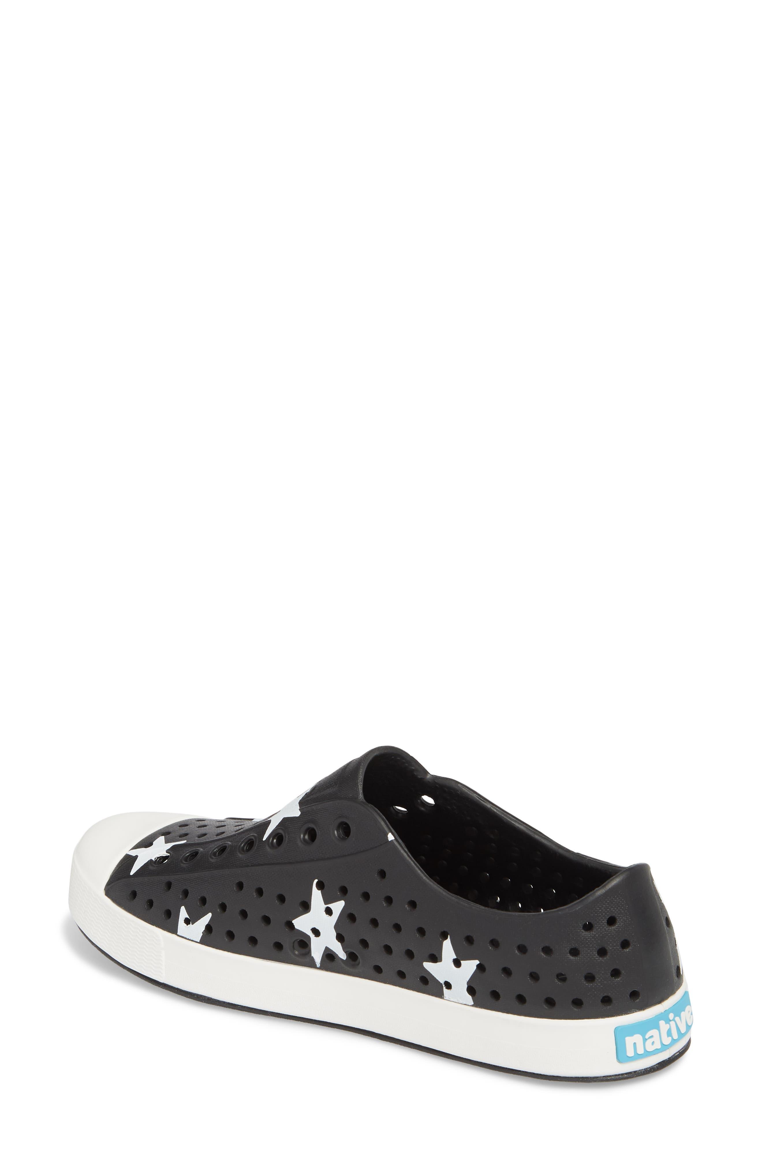 'Jefferson' Printed Slip-On Sneaker,                             Alternate thumbnail 2, color,                             Jiffy Black/ White/ Big Star