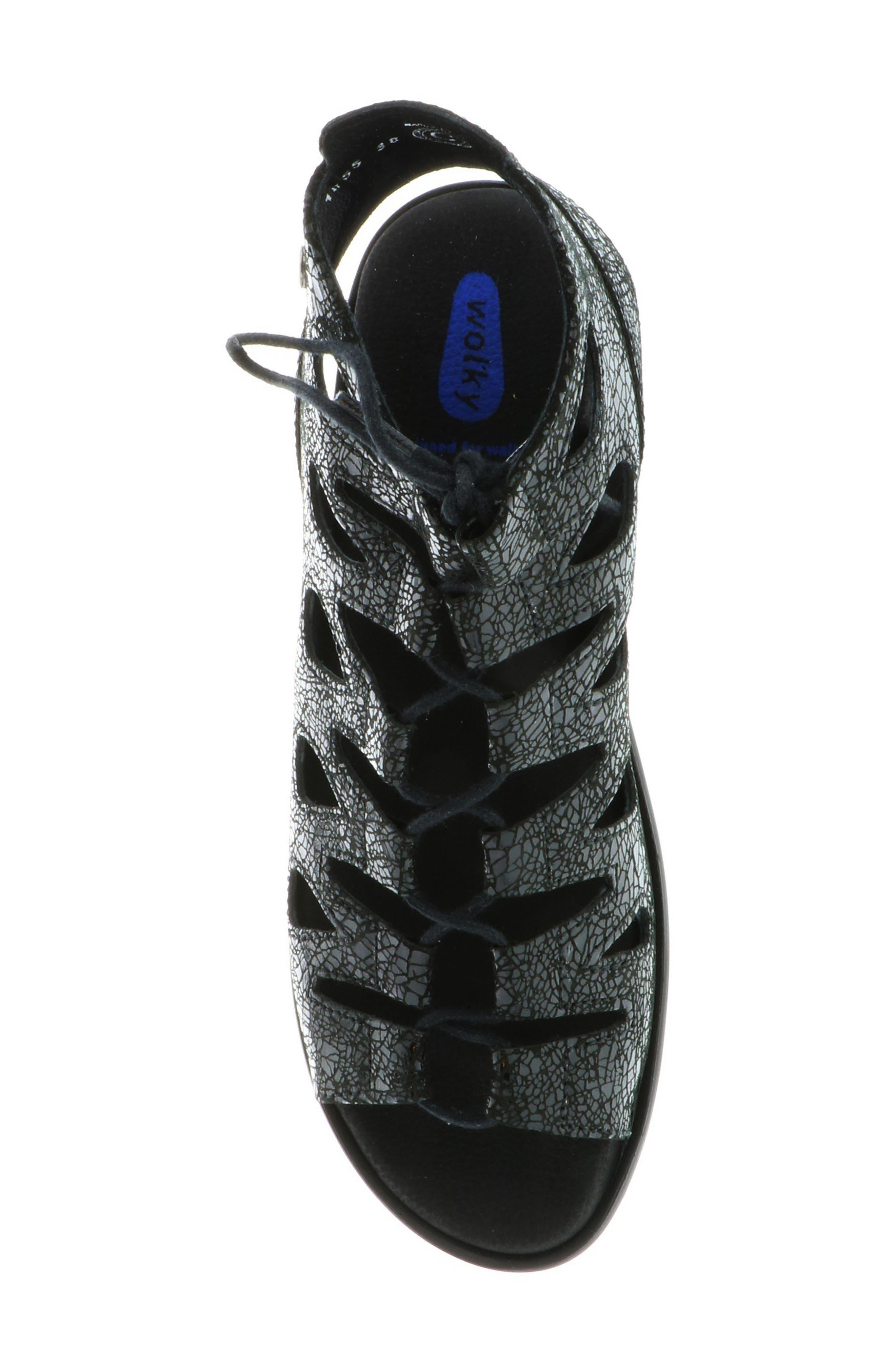 Seminyak Sandal,                             Alternate thumbnail 4, color,                             Black Suede