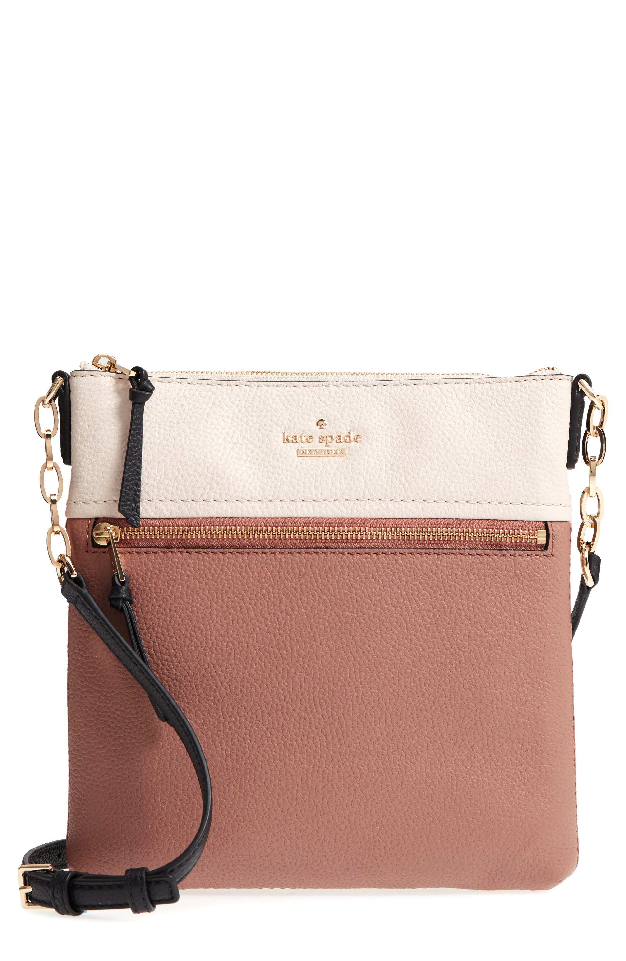 jackson street - melisse crossbody bag,                         Main,                         color, Black/ Toasty Multi
