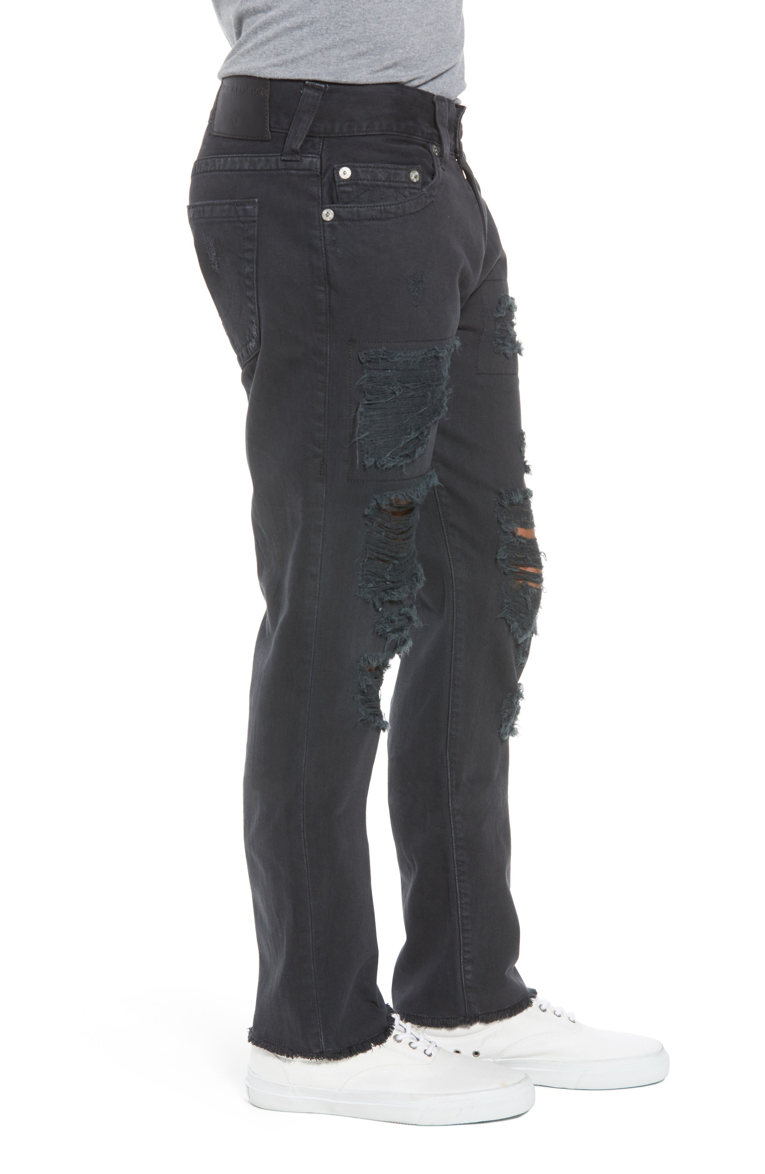 Rocco Skinny Fit Jeans,                             Alternate thumbnail 3, color,                             Black Volcanic Ash