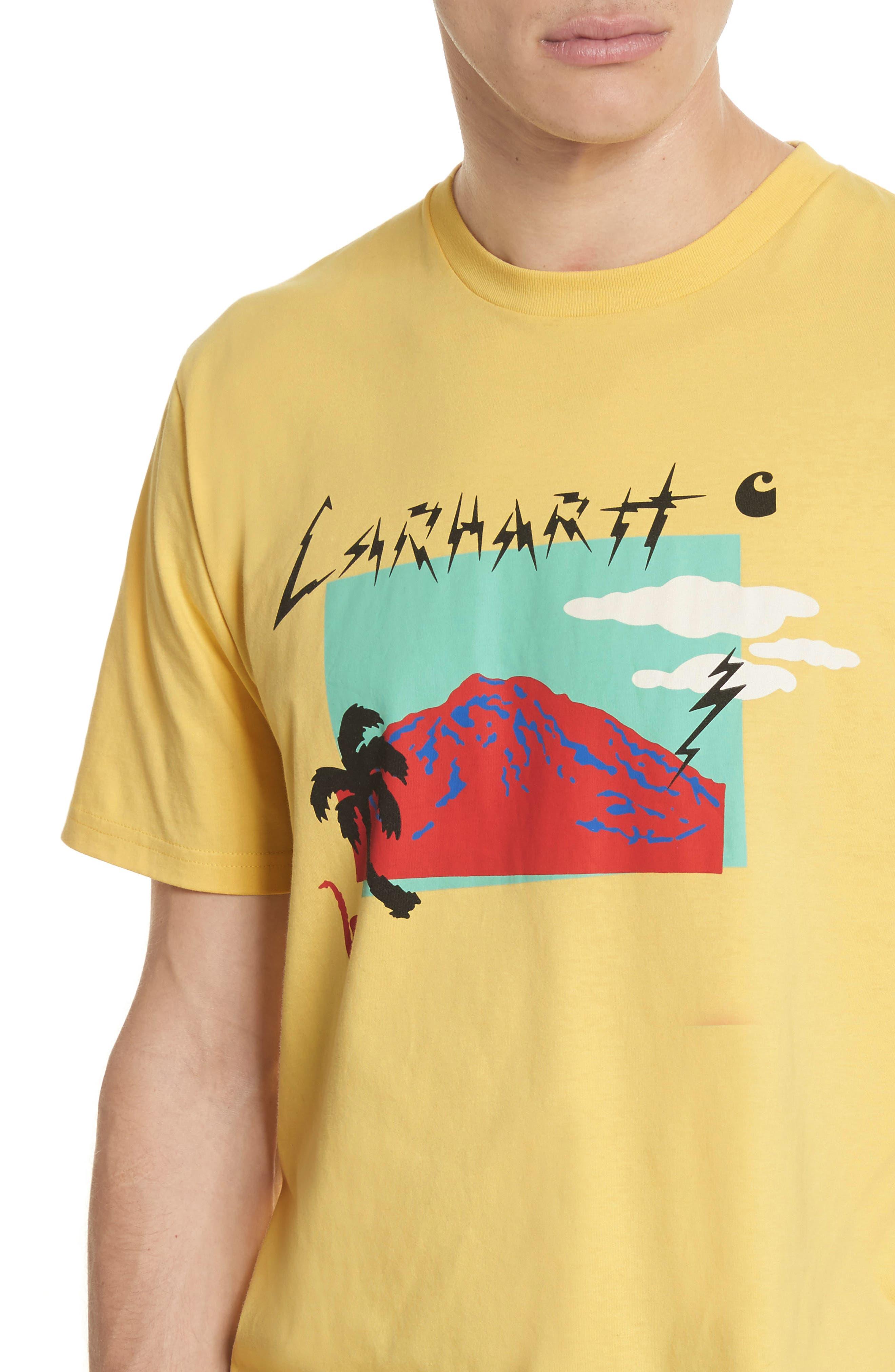 Anderson T-Shirt,                             Alternate thumbnail 4, color,                             Citrine