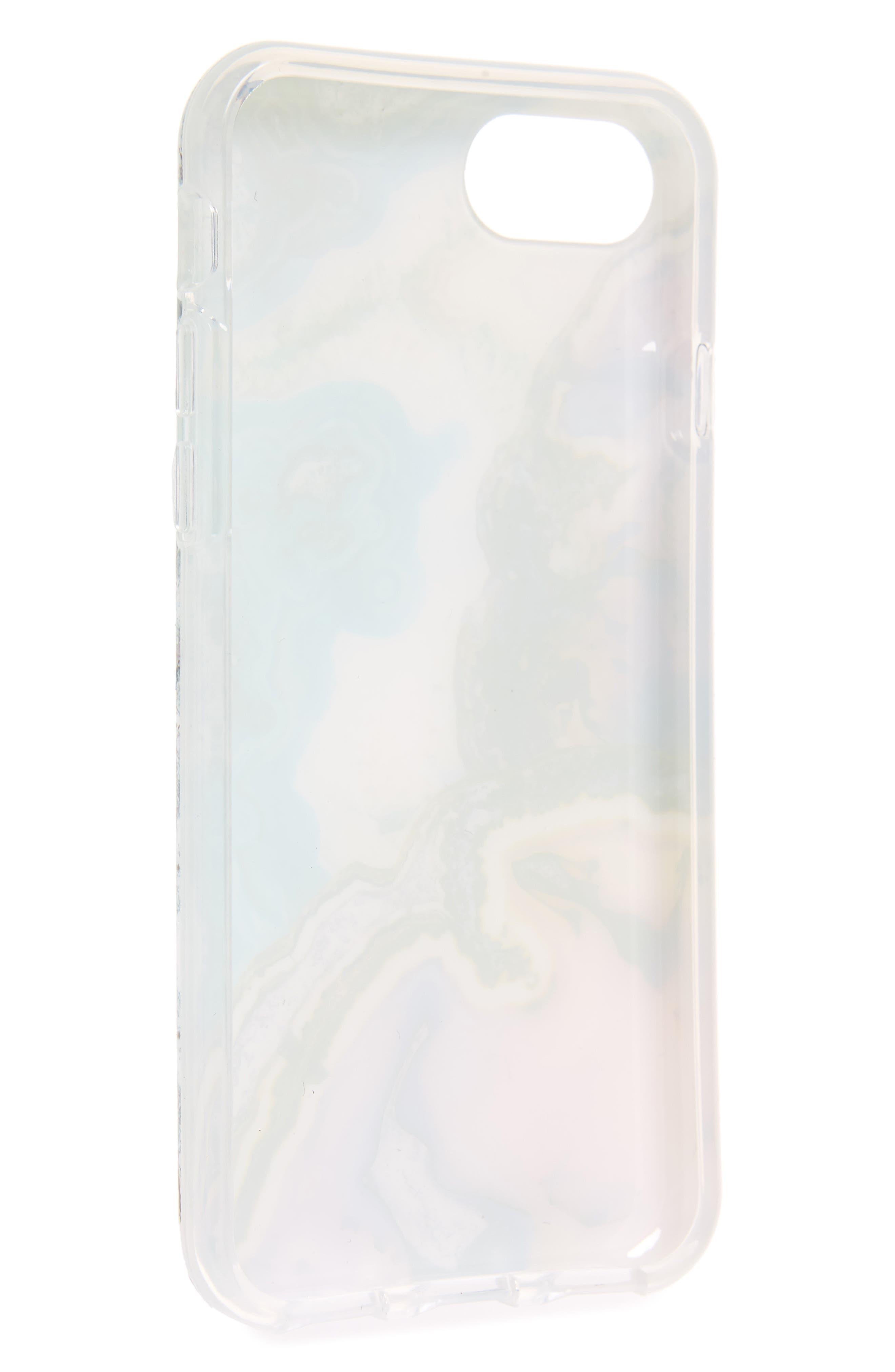 Agate Print iPhone 7/8 & 7/8 Plus,                             Alternate thumbnail 2, color,                             Miscellaneous