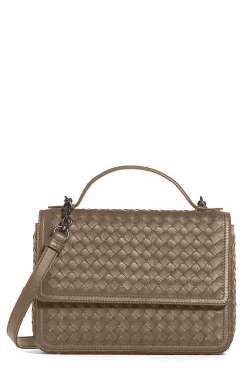 dc0acee176 Bottega Veneta Intrecciato Leather Handbag