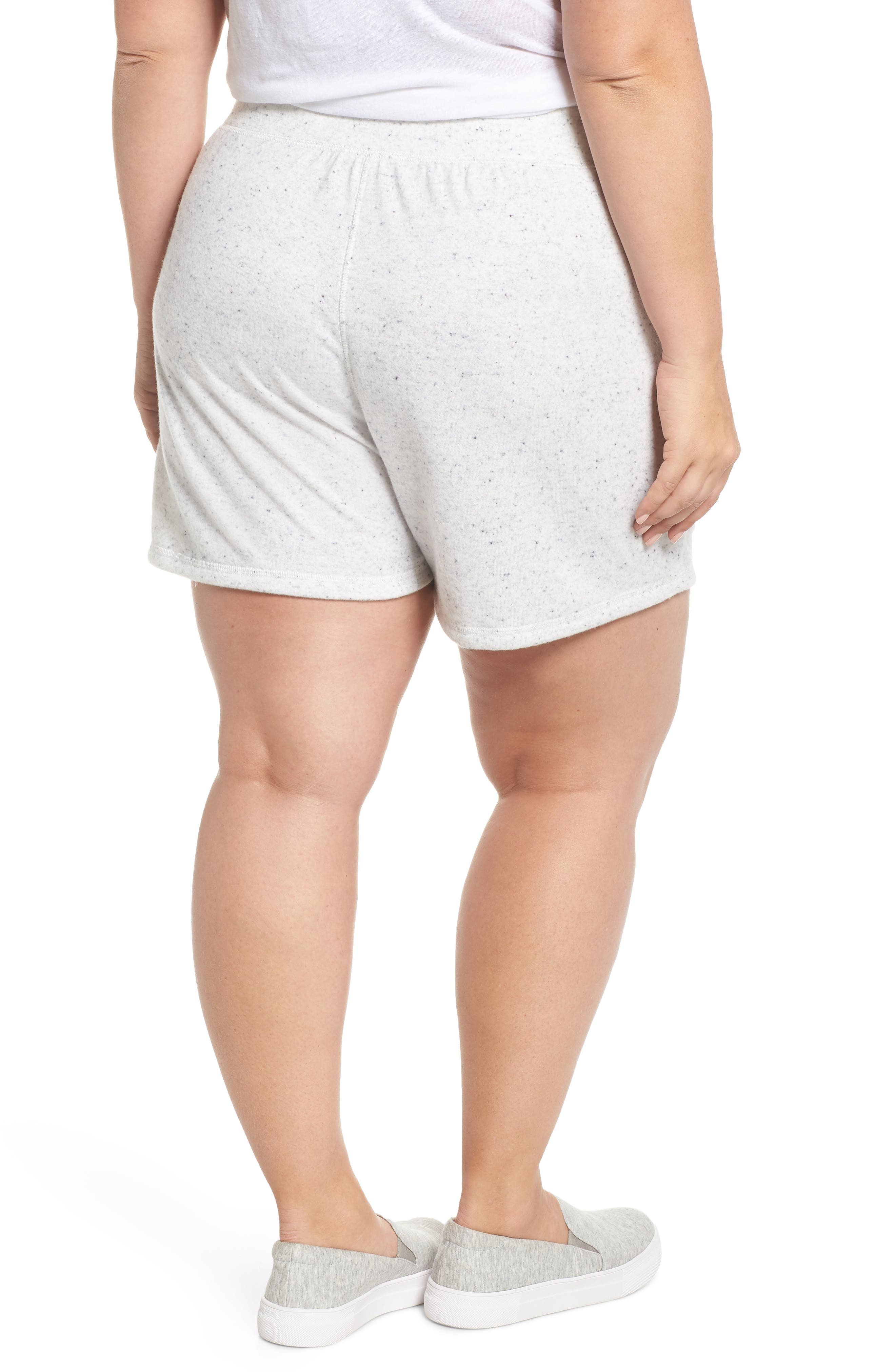 French Terry Shorts,                             Alternate thumbnail 2, color,                             Grey Heather