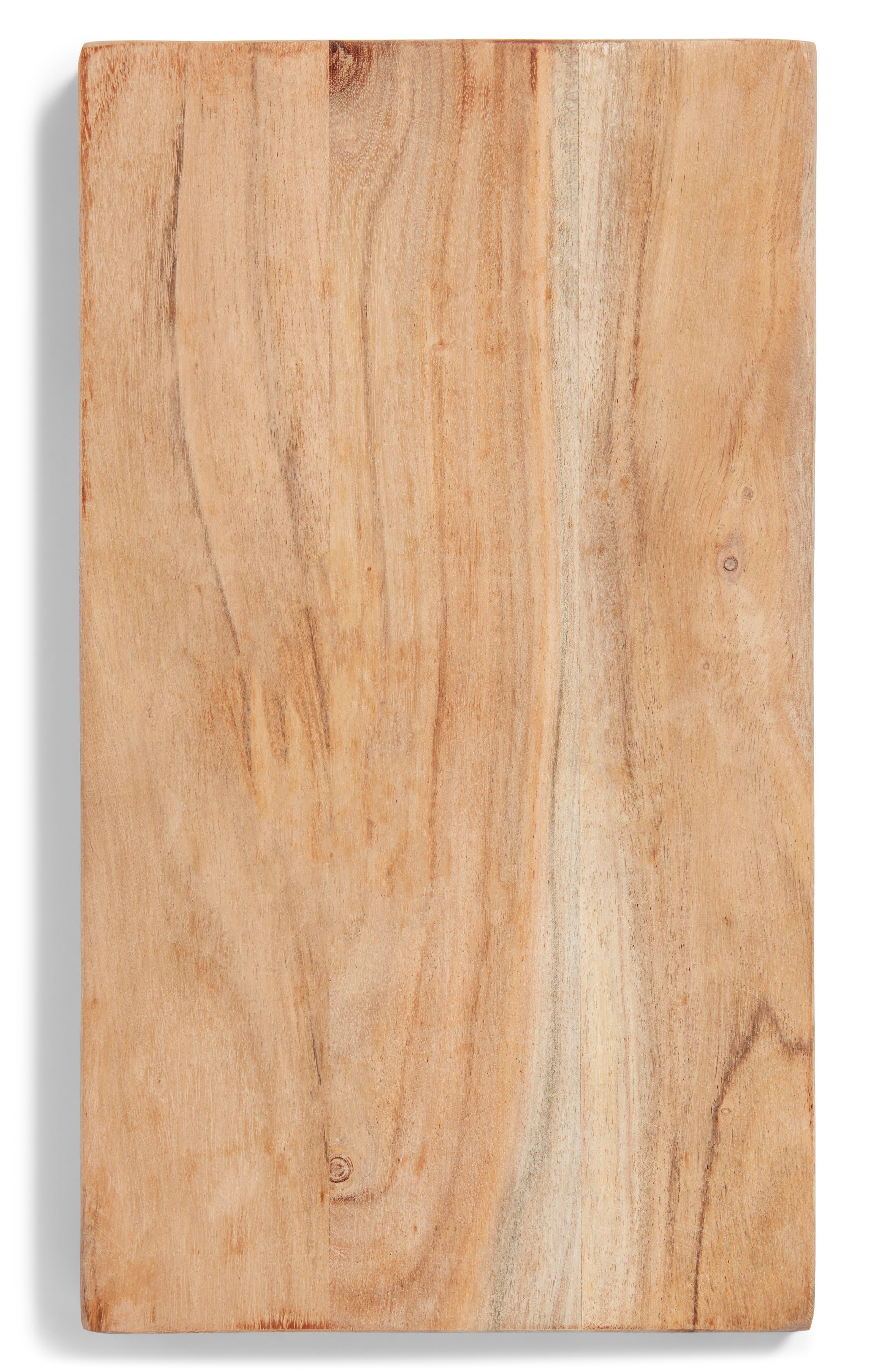 Blue Marble & Mango Wood Reversible Serving Board,                             Alternate thumbnail 3, color,                             Wood