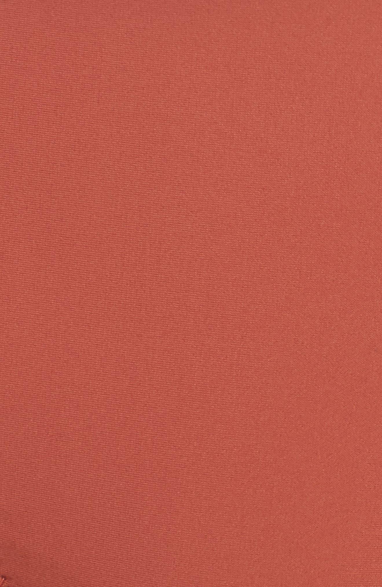 Fairfax Bandeau Bikini Top,                             Alternate thumbnail 8, color,                             Copper